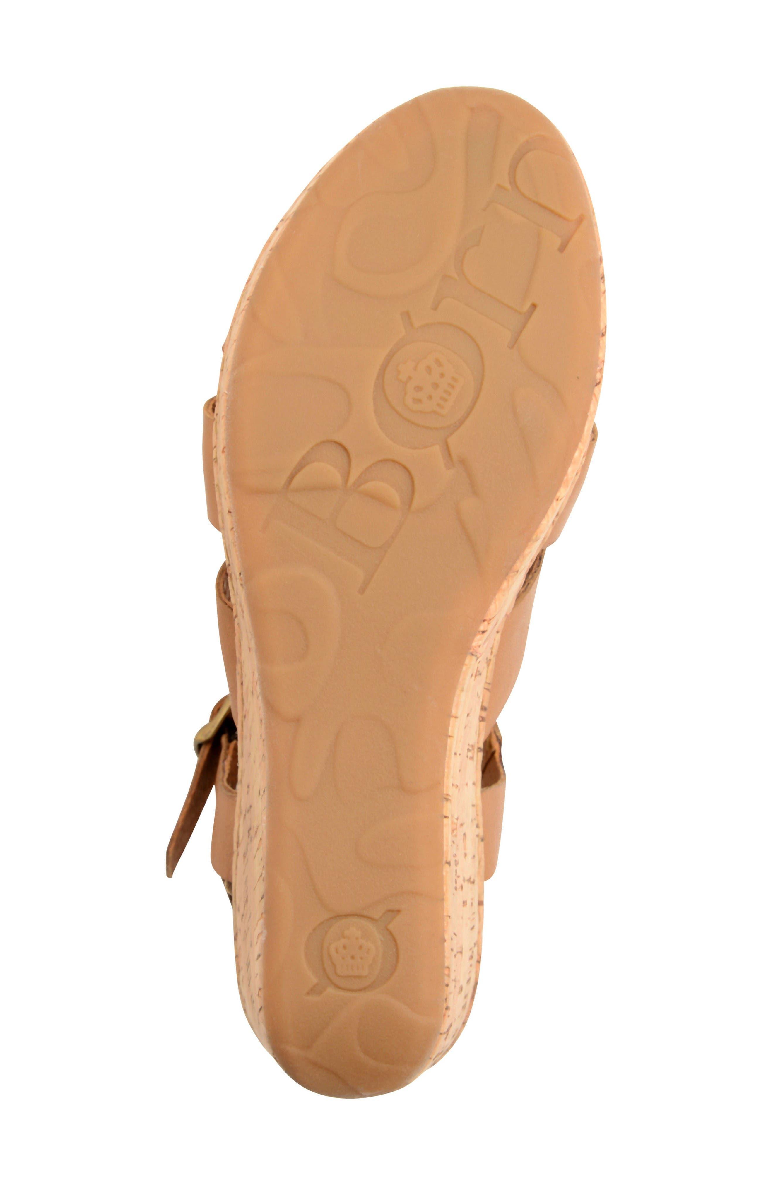 Alternate Image 4  - Børn Anori Platform Wedge Sandal (Women)