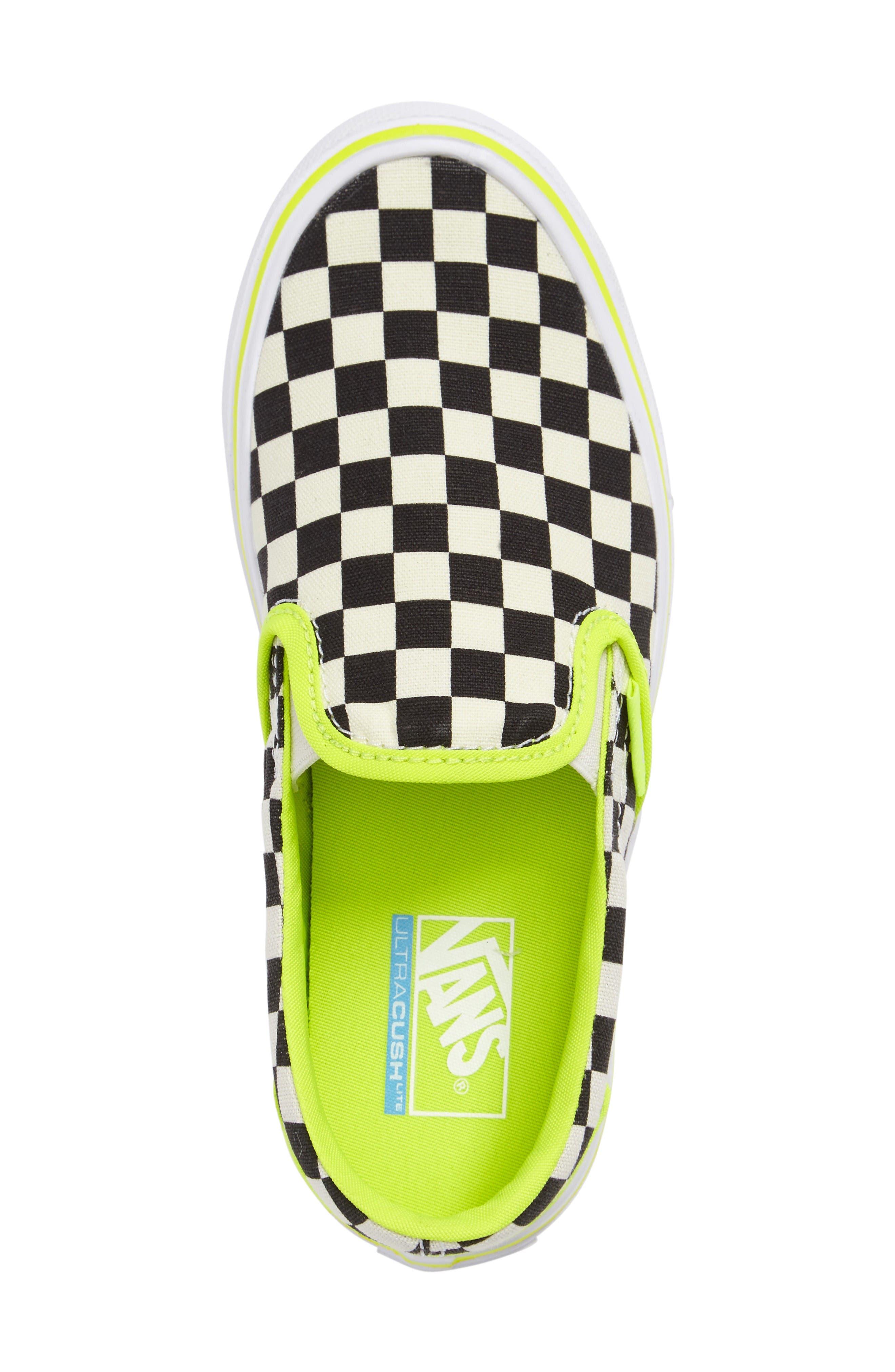 Classic Freshness Slip-On Lite Sneaker,                             Alternate thumbnail 3, color,                             Freshness Classic White/Black