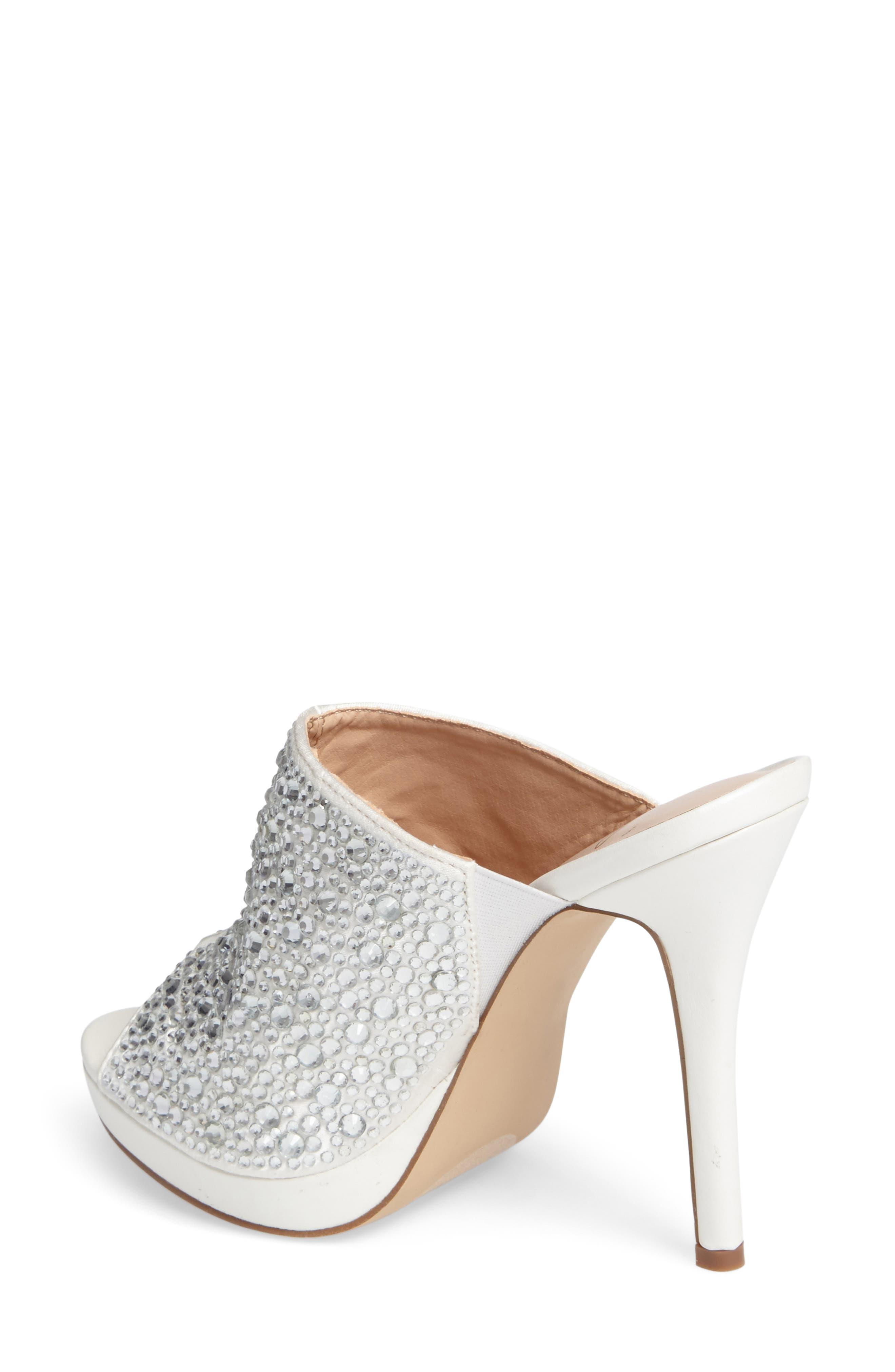 Alternate Image 2  - Lauren Lorraine Mimi Embellished Slide Sandal (Women)
