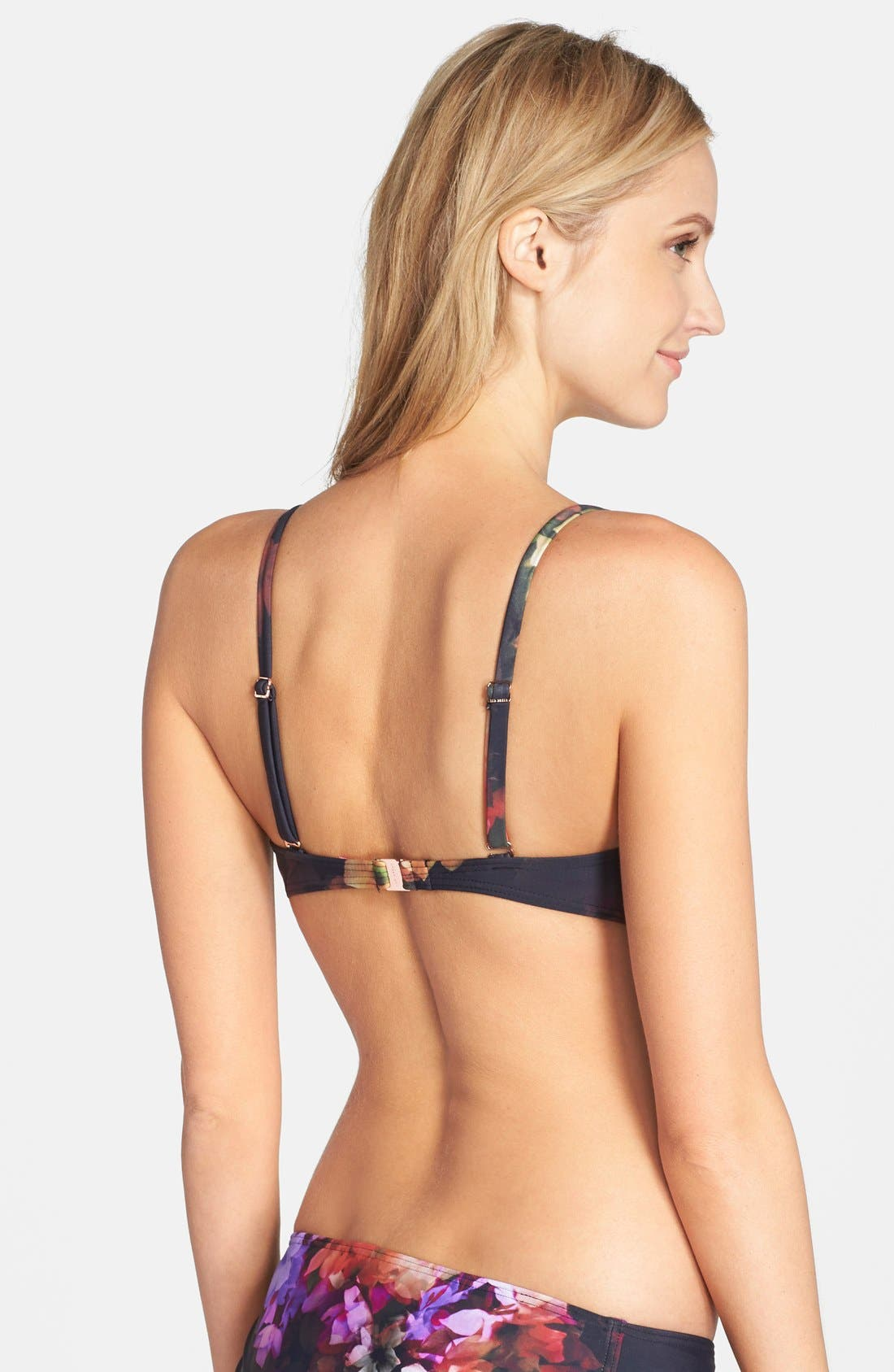 Alternate Image 2  - Ted Baker London 'Cascading Floral' Underwire Bikini Top