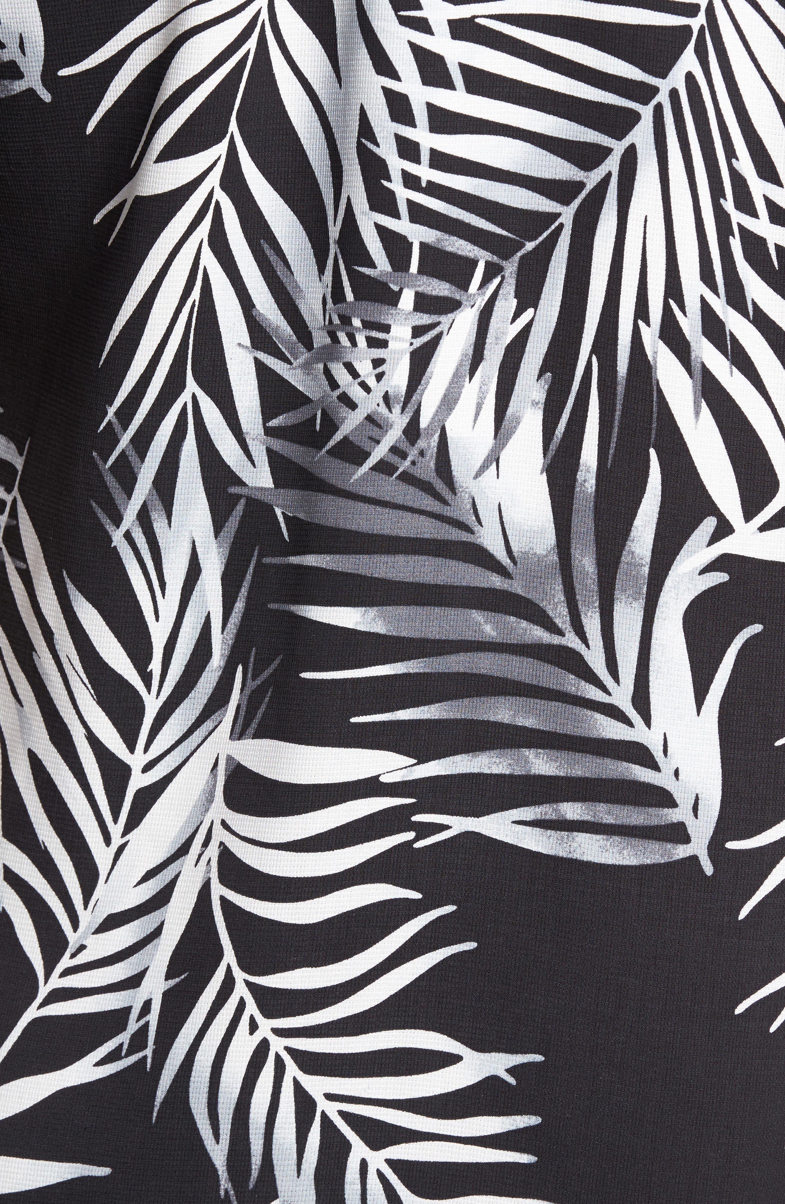 Alternate Image 5  - Tommy Bahama Beyond Frond Silk Camp Shirt