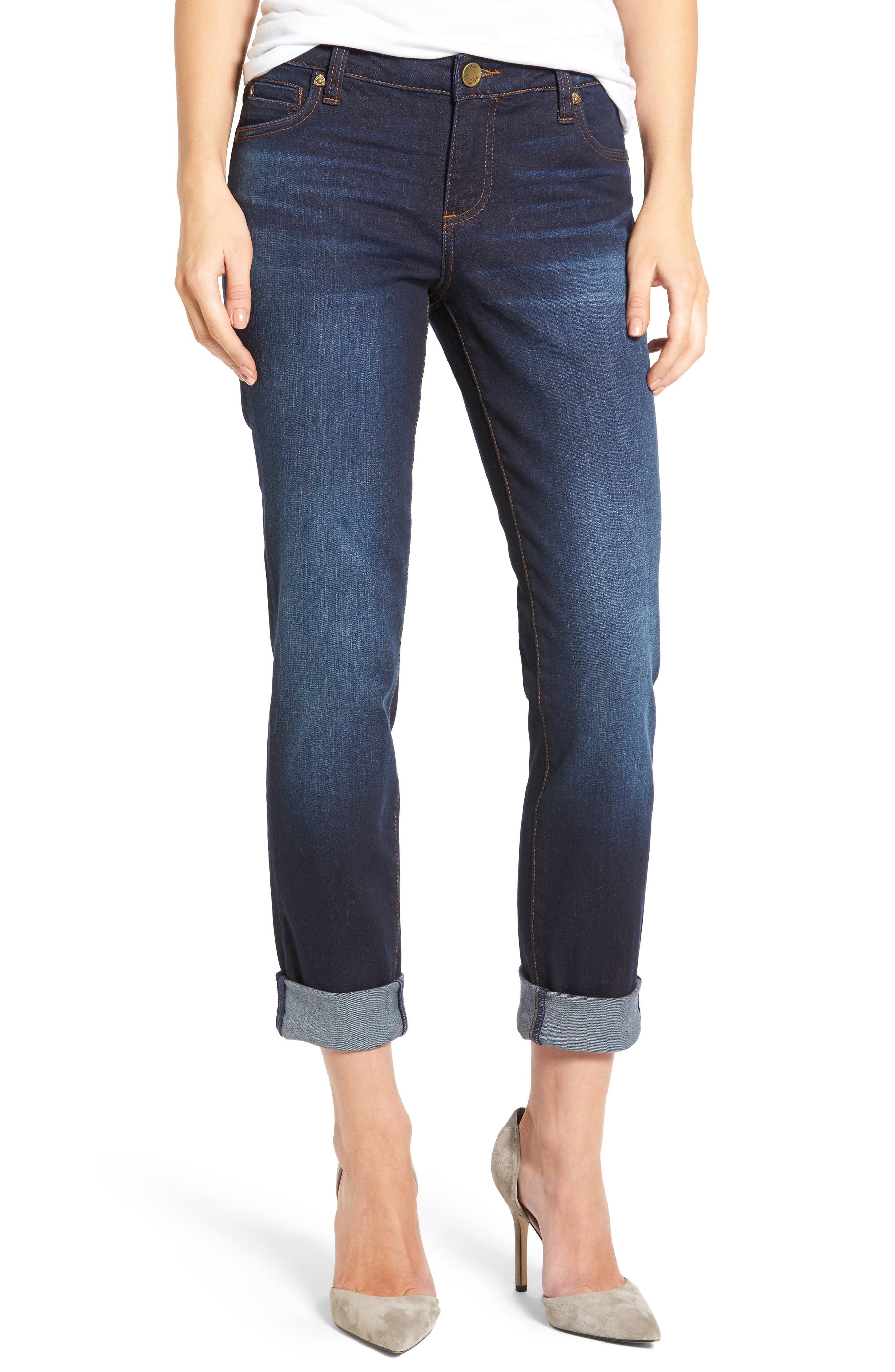 Alternate Image 1 Selected - KUT from the Kloth Catherine Boyfriend Jeans (Adaptability)
