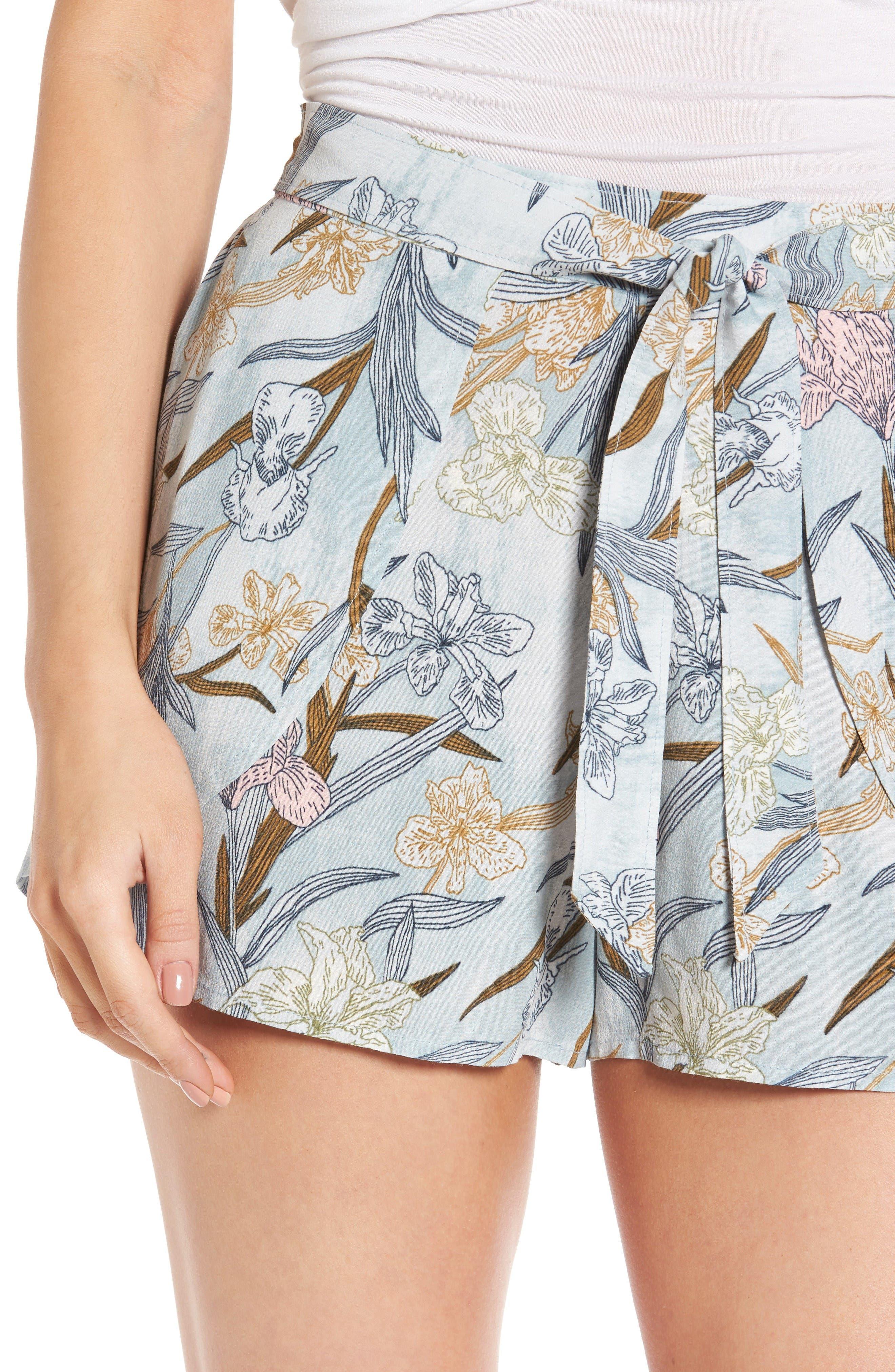 Alternate Image 5  - BP. Tie Front Shorts
