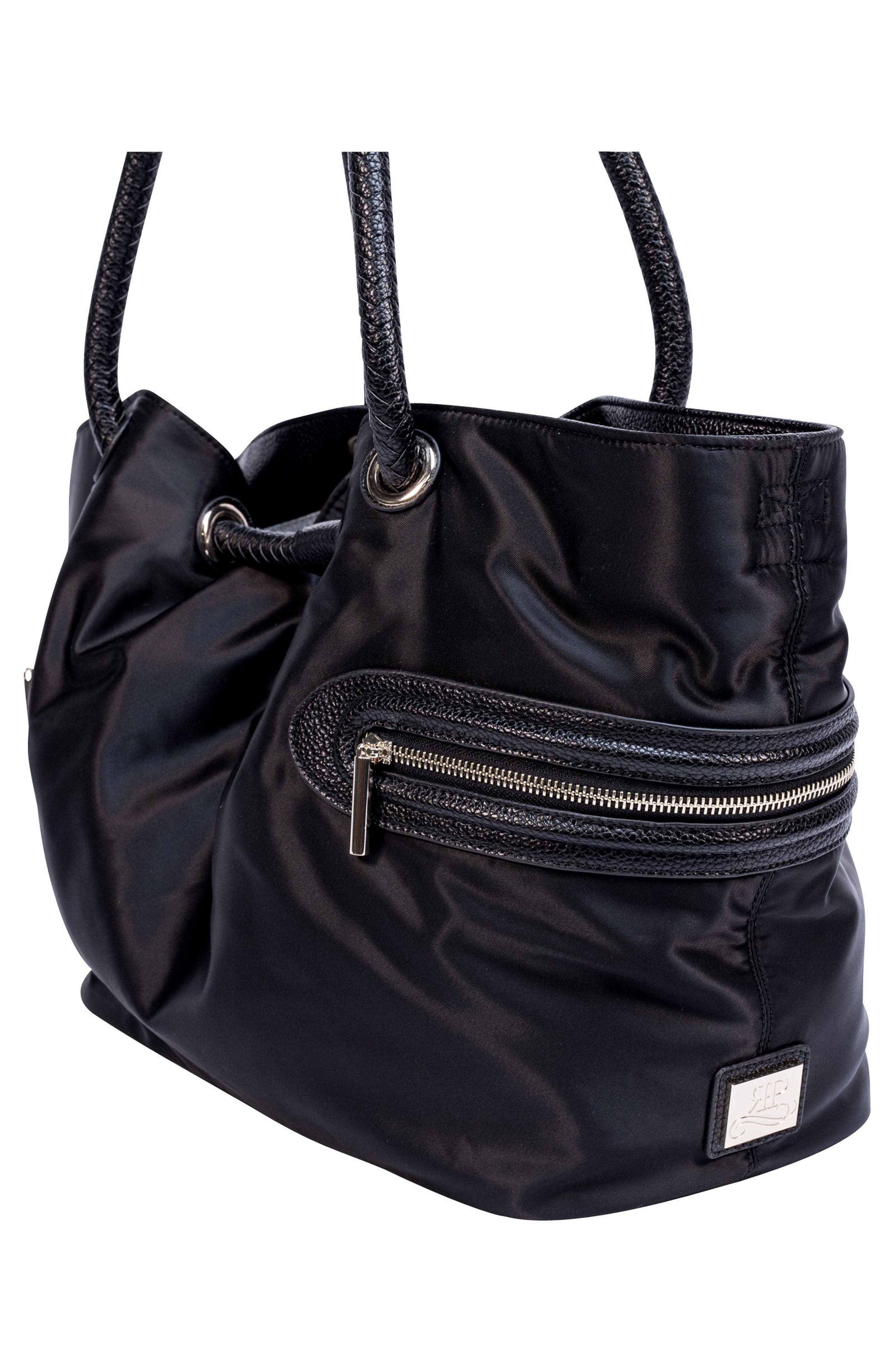 Addison Lane Diaper Bag,                             Alternate thumbnail 5, color,                             Black