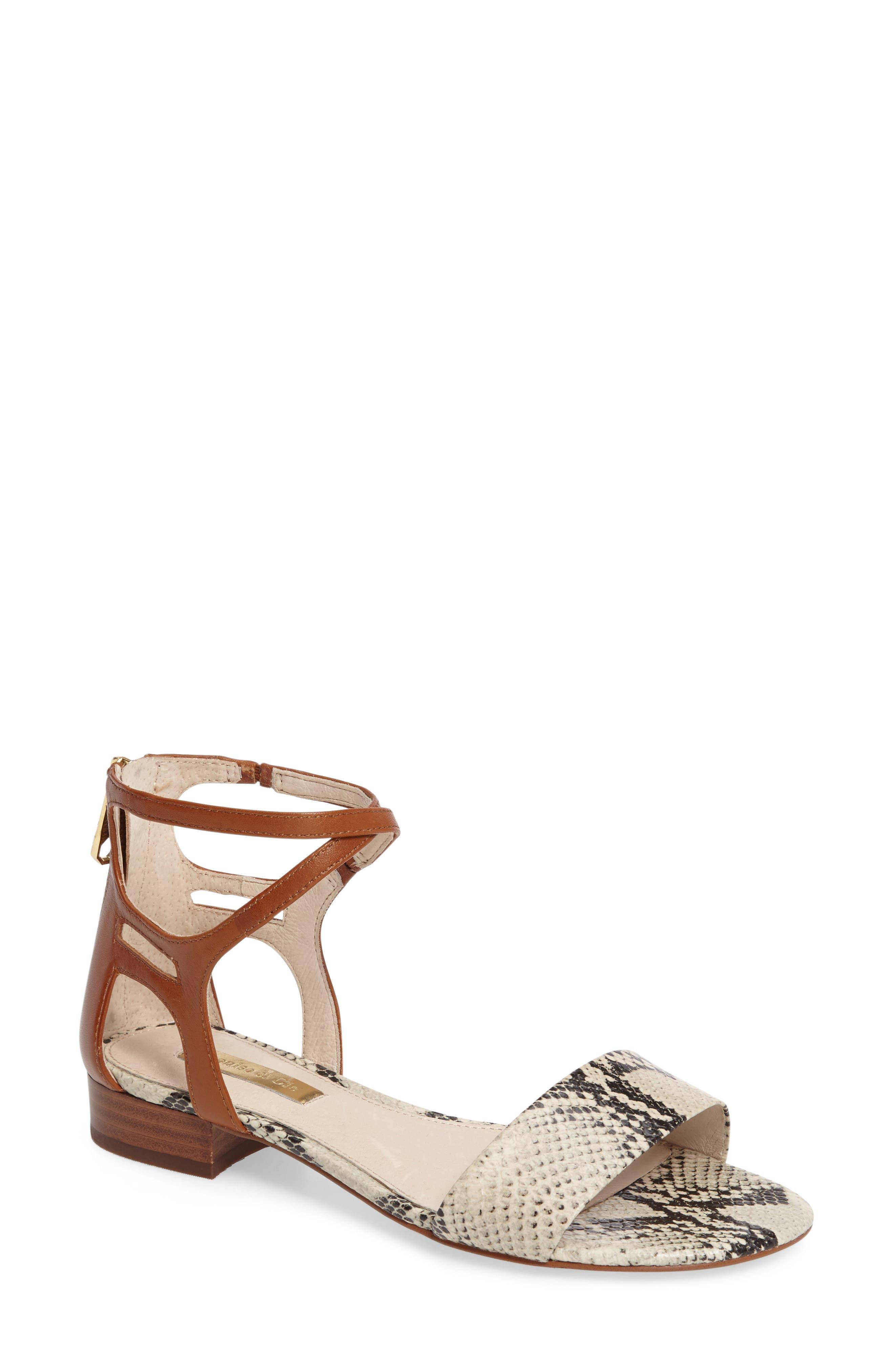 Alternate Image 1 Selected - Louise et Cie Adley Ankle Strap Sandal (Women)