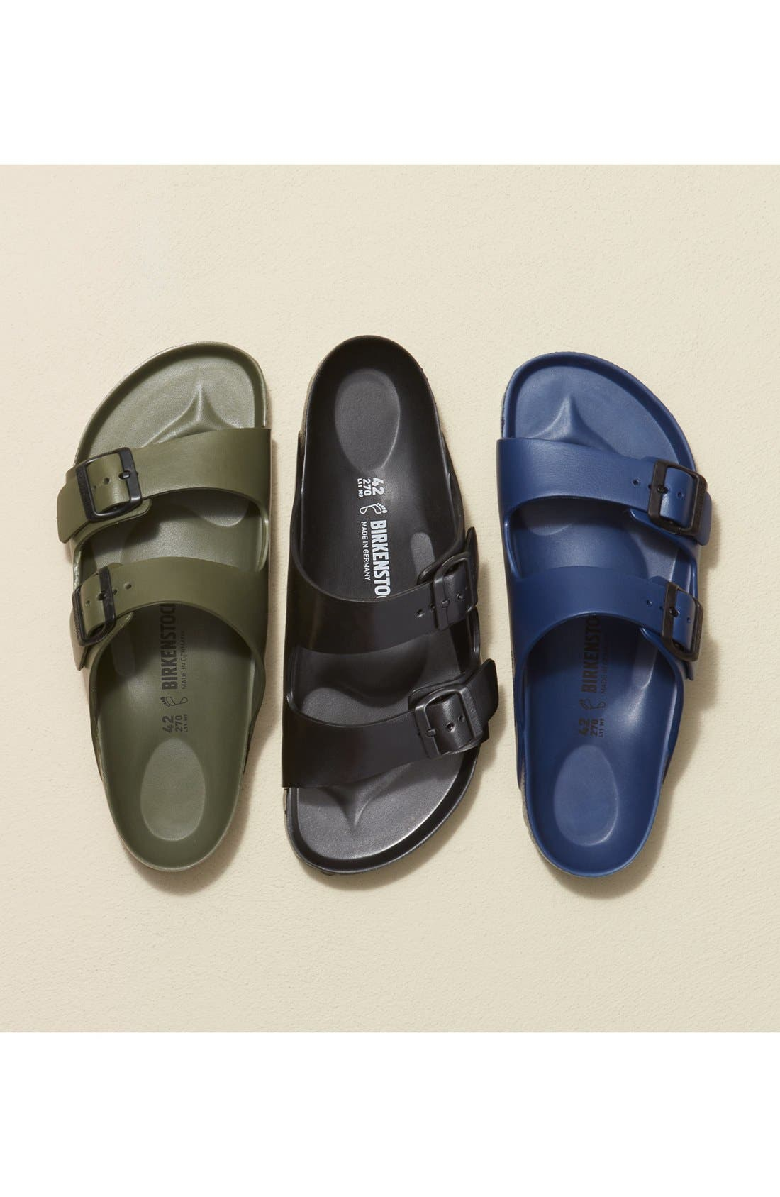 Alternate Image 9  - Birkenstock 'Essentials - Arizona EVA' Waterproof Slide Sandal (Men)