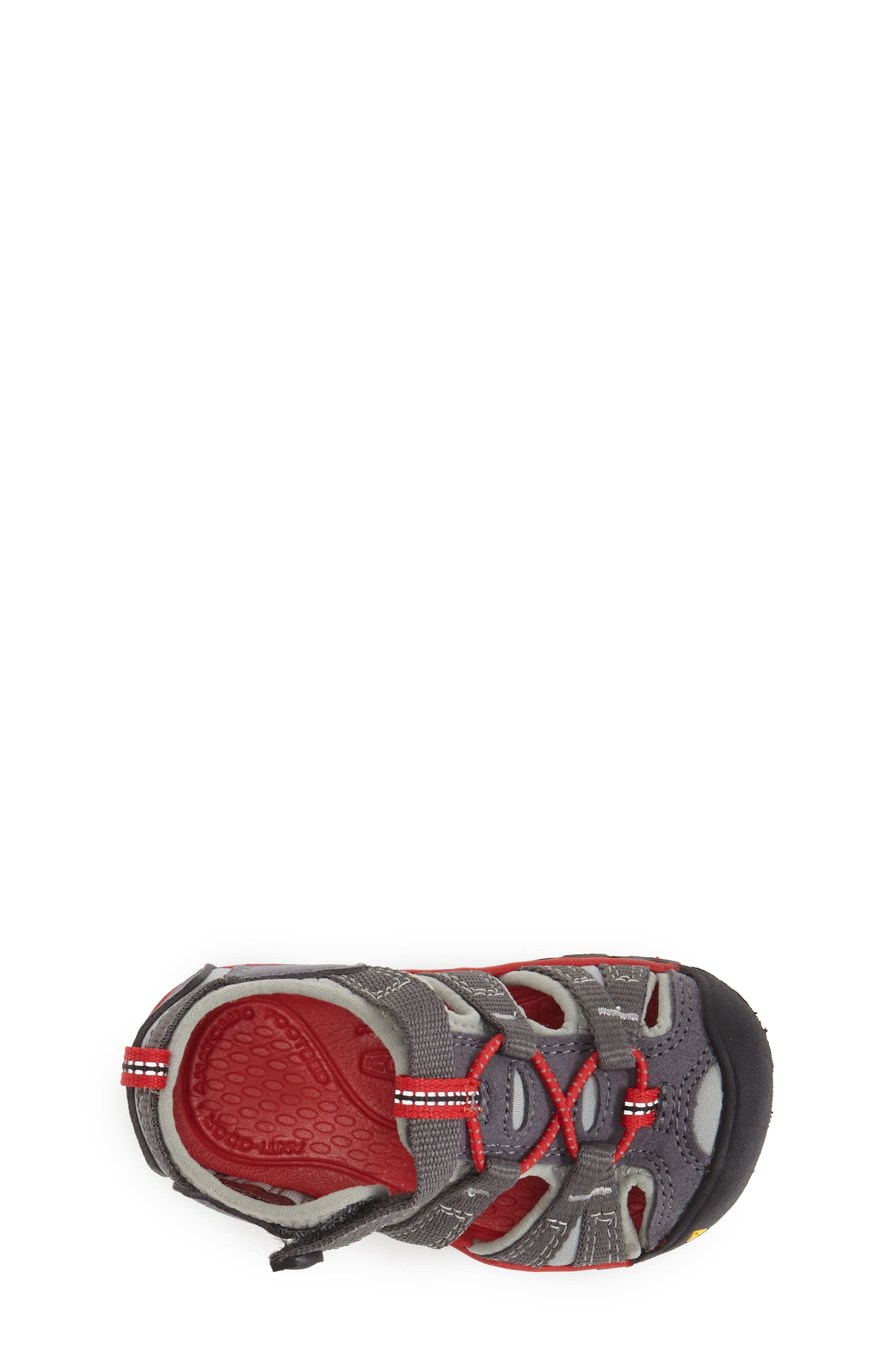 Seacamp II Water Friendly Sandal,                             Alternate thumbnail 3, color,                             Magnet/ Racing Red