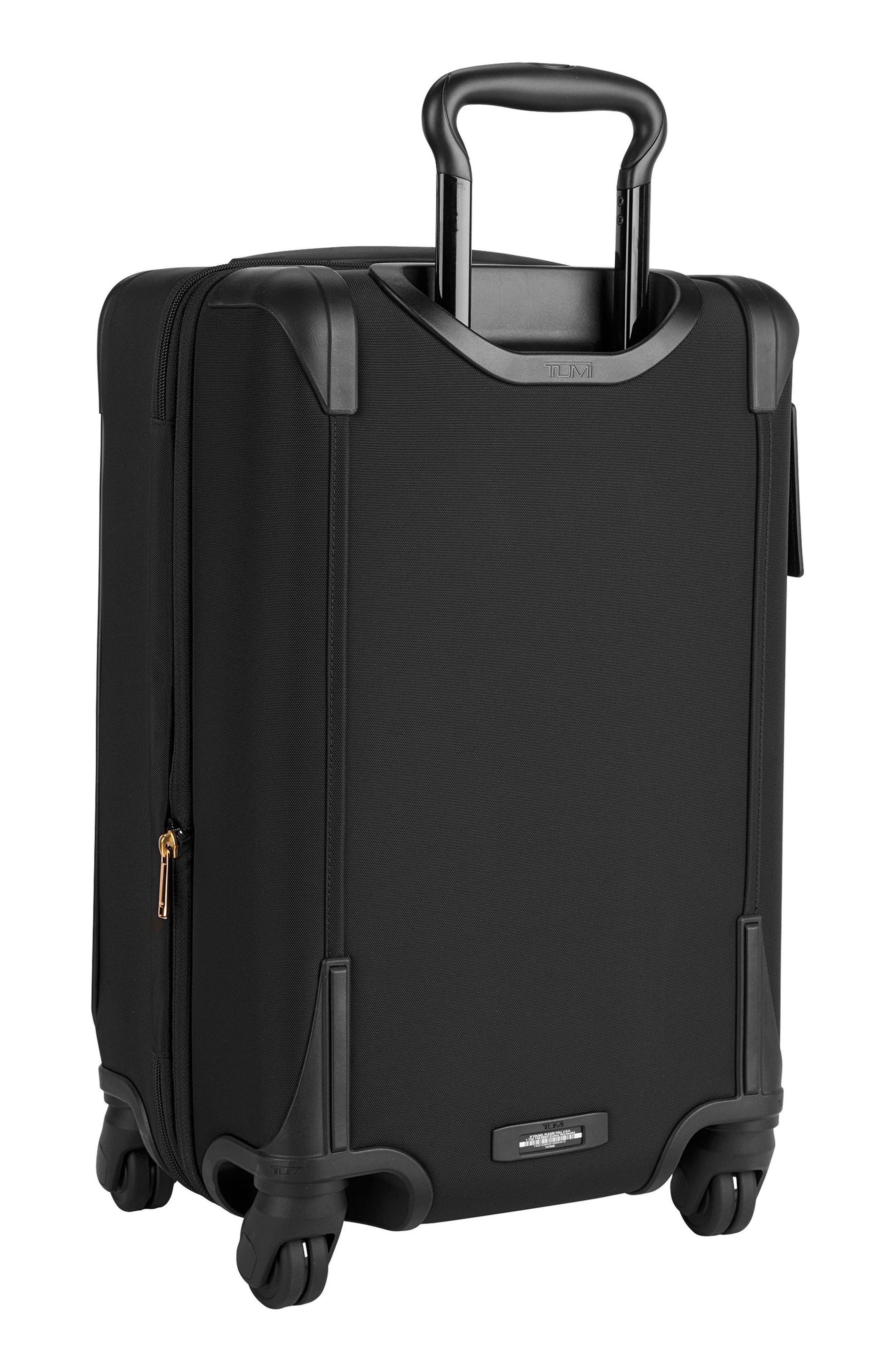 Sam International Expandable 22-Inch 4-Wheel Carry-On,                             Alternate thumbnail 3, color,                             Black