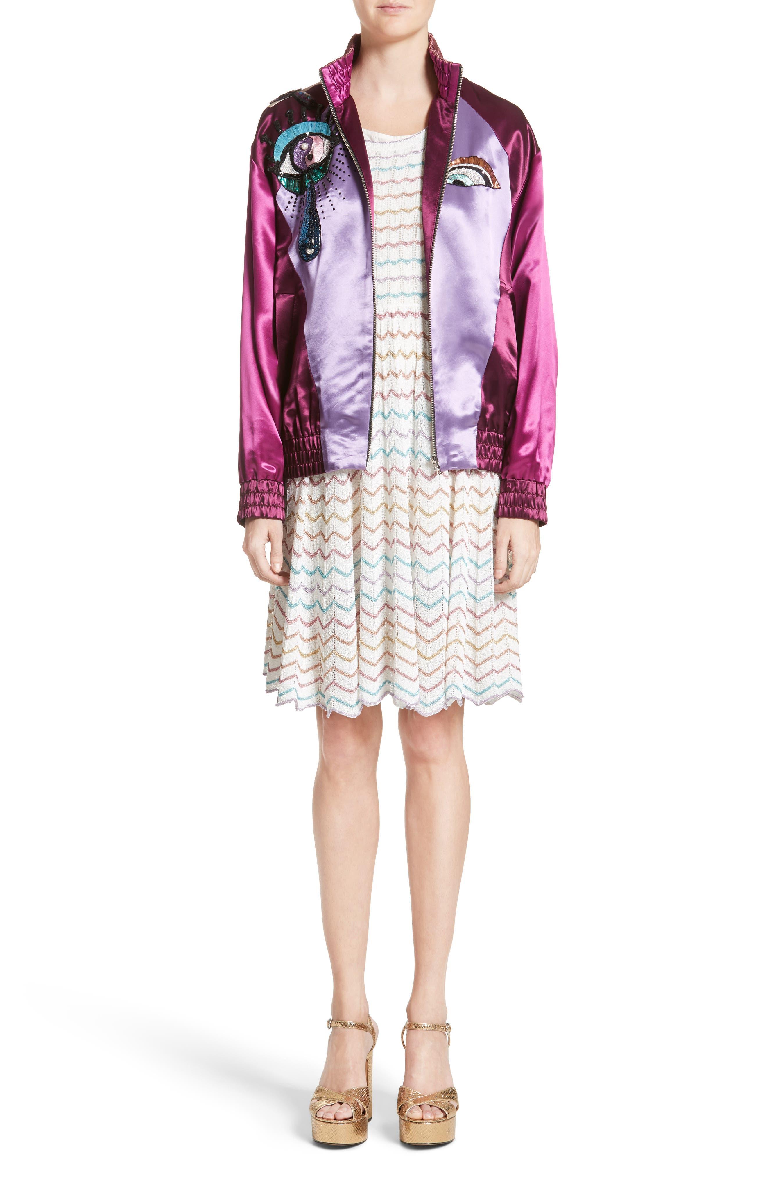 Alternate Image 8  - MARC JACOBS Knit Babydoll Dress