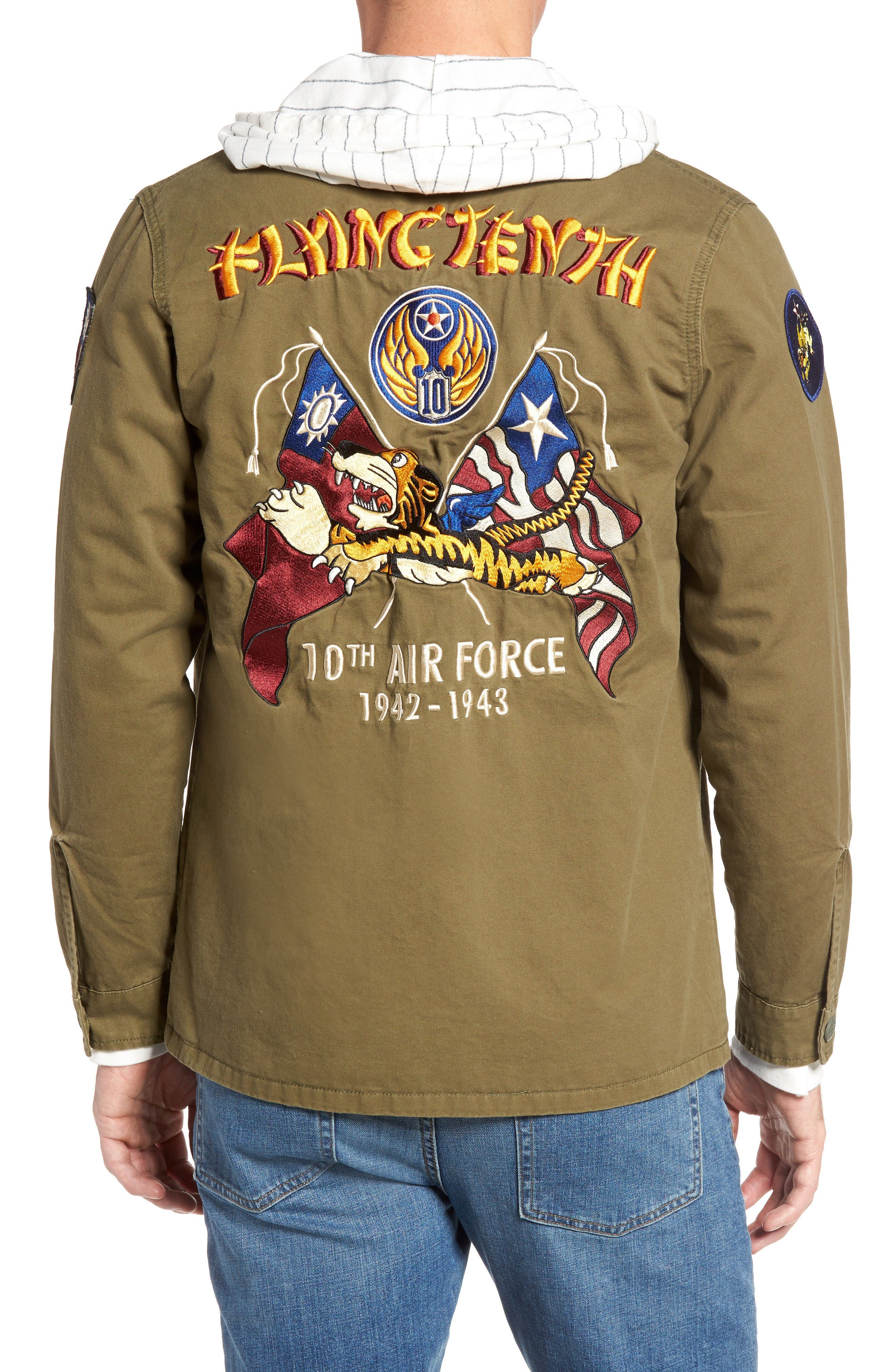 Alternate Image 2  - Schott NYC Flying Tenth Fatigue Shirt