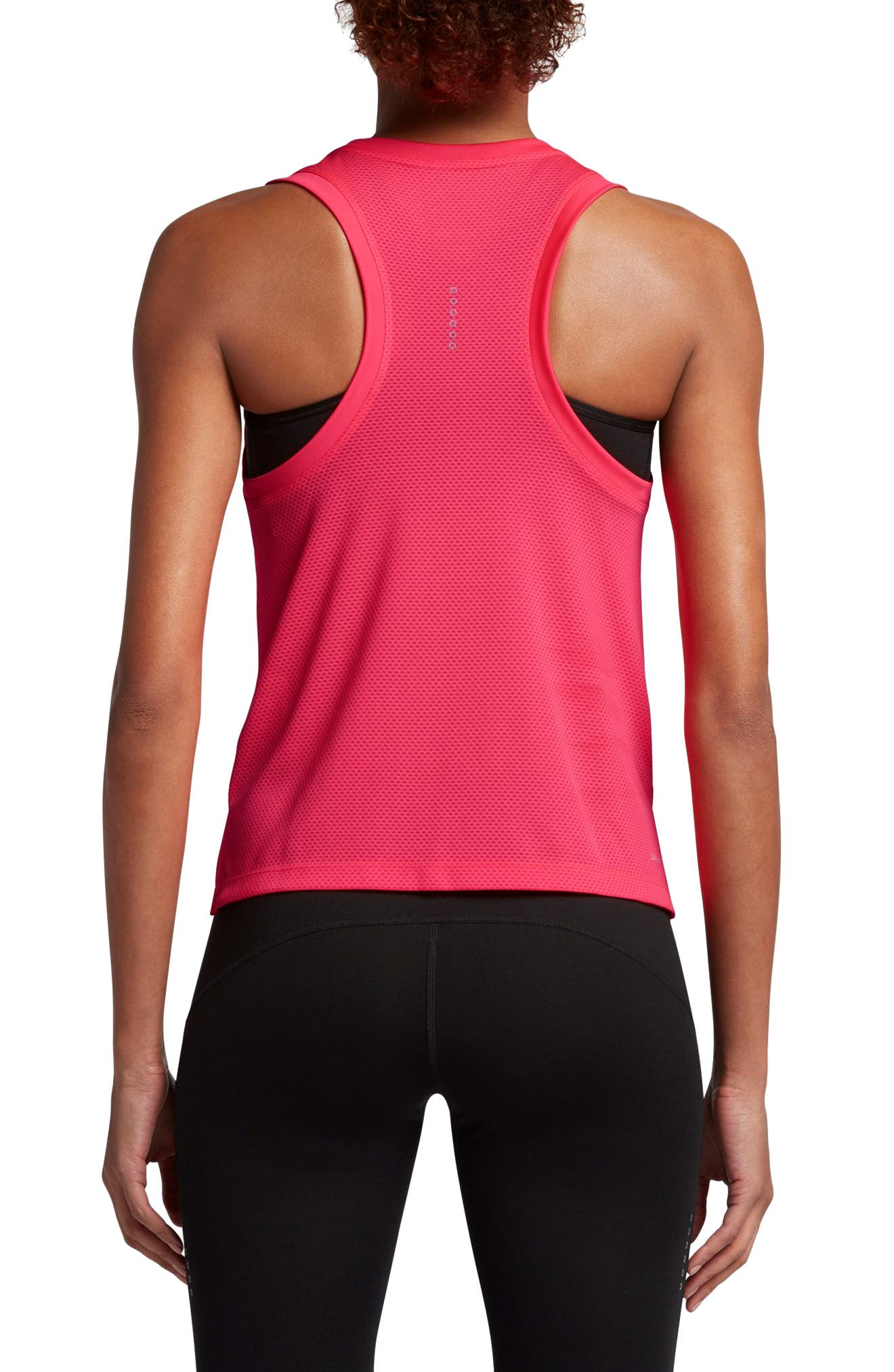 Dry City Running Tank,                             Alternate thumbnail 2, color,                             Racer Pink