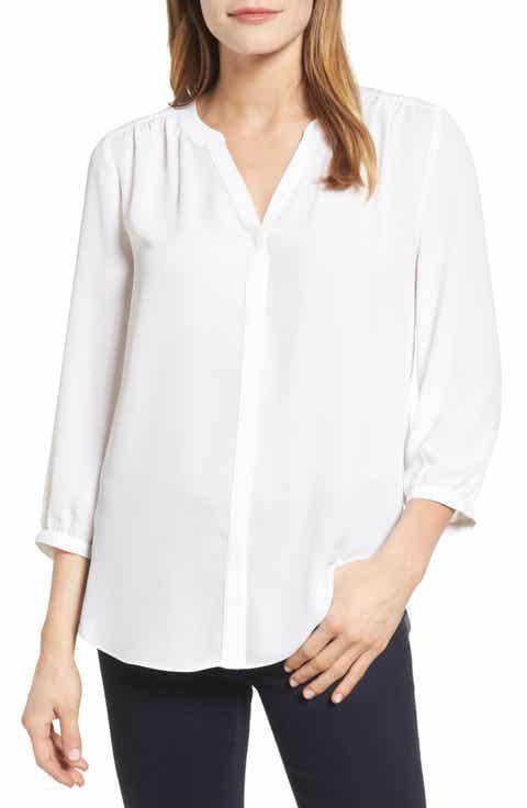 Women's White Shirts & Blouses Work Clothing   Nordstrom