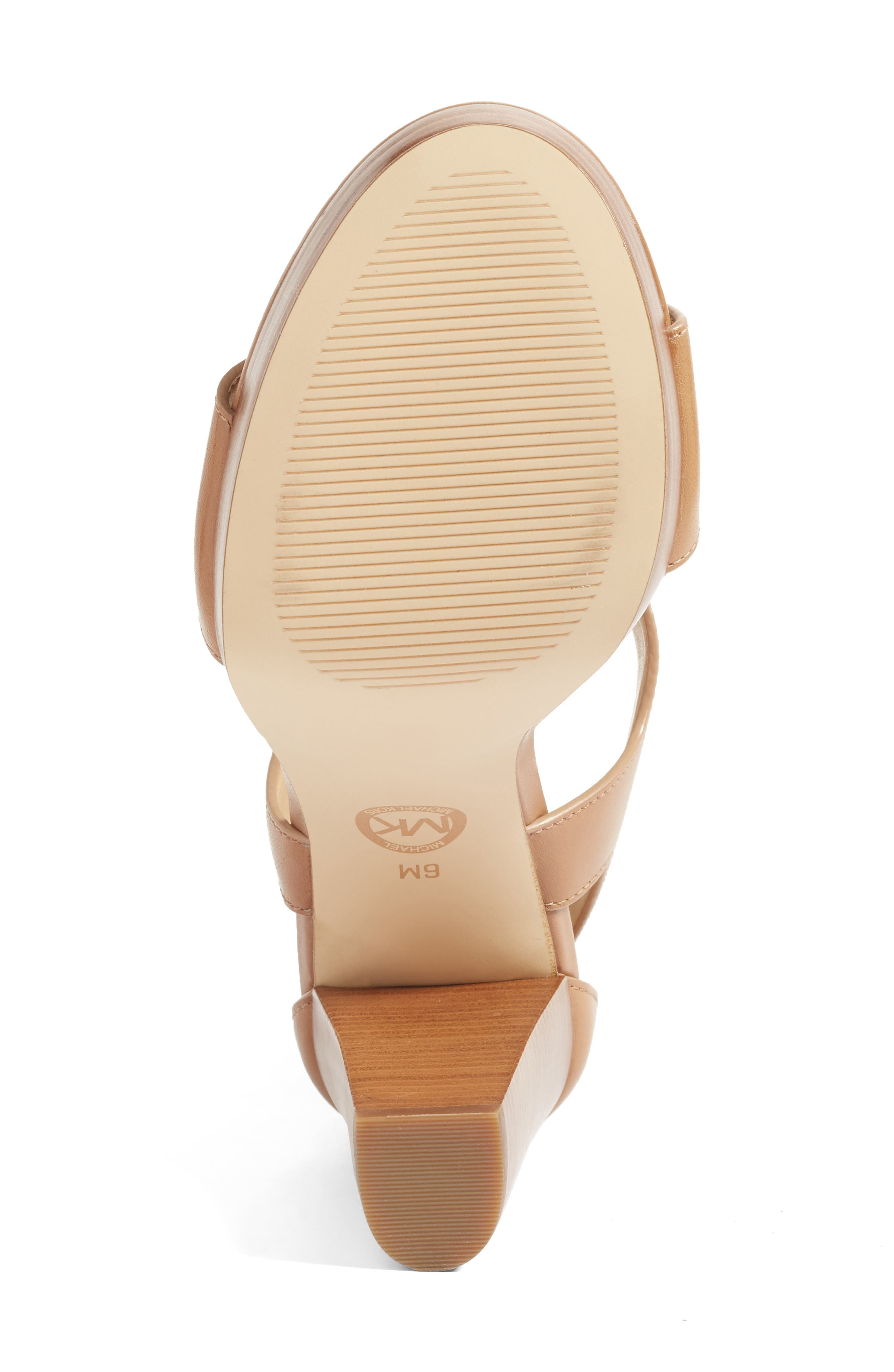 Alternate Image 4  - MICHAEL Michael Kors 'Berkley' T-Strap Sandal (Women)