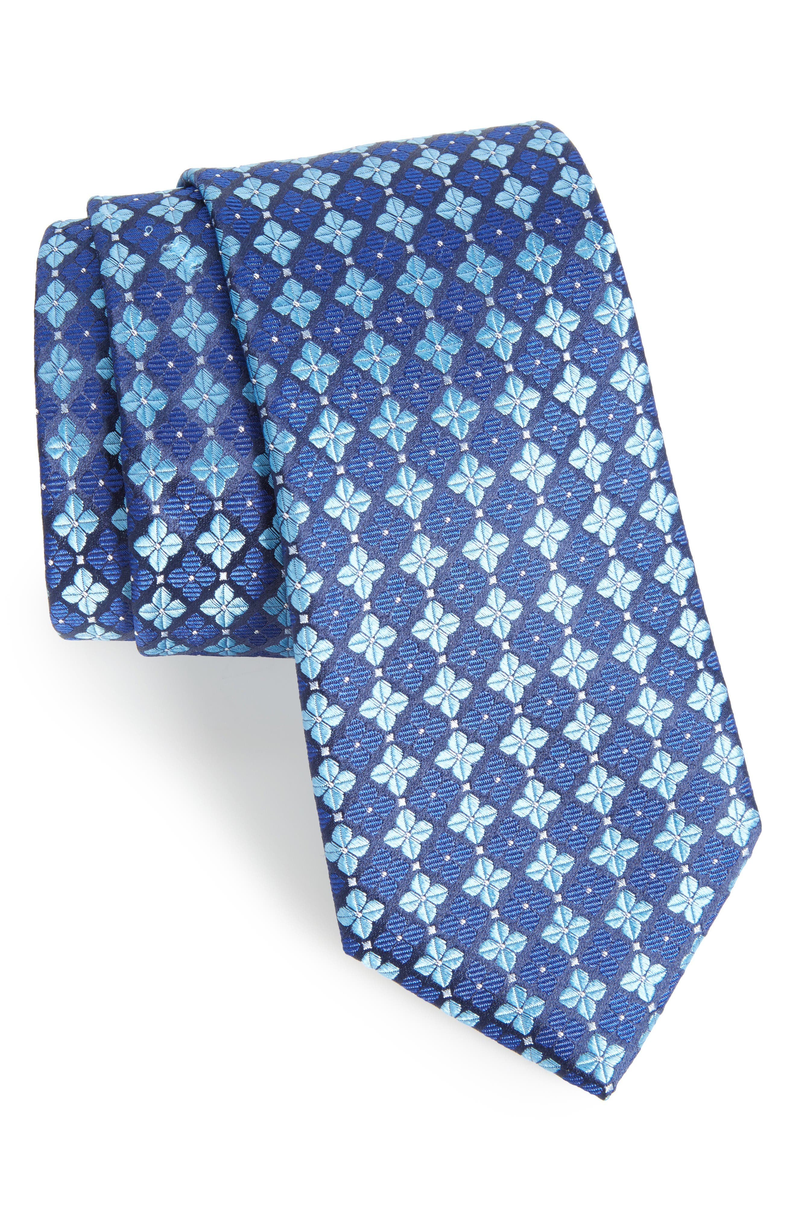 Nordstrom Men's Shop Shamrock Silk Tie