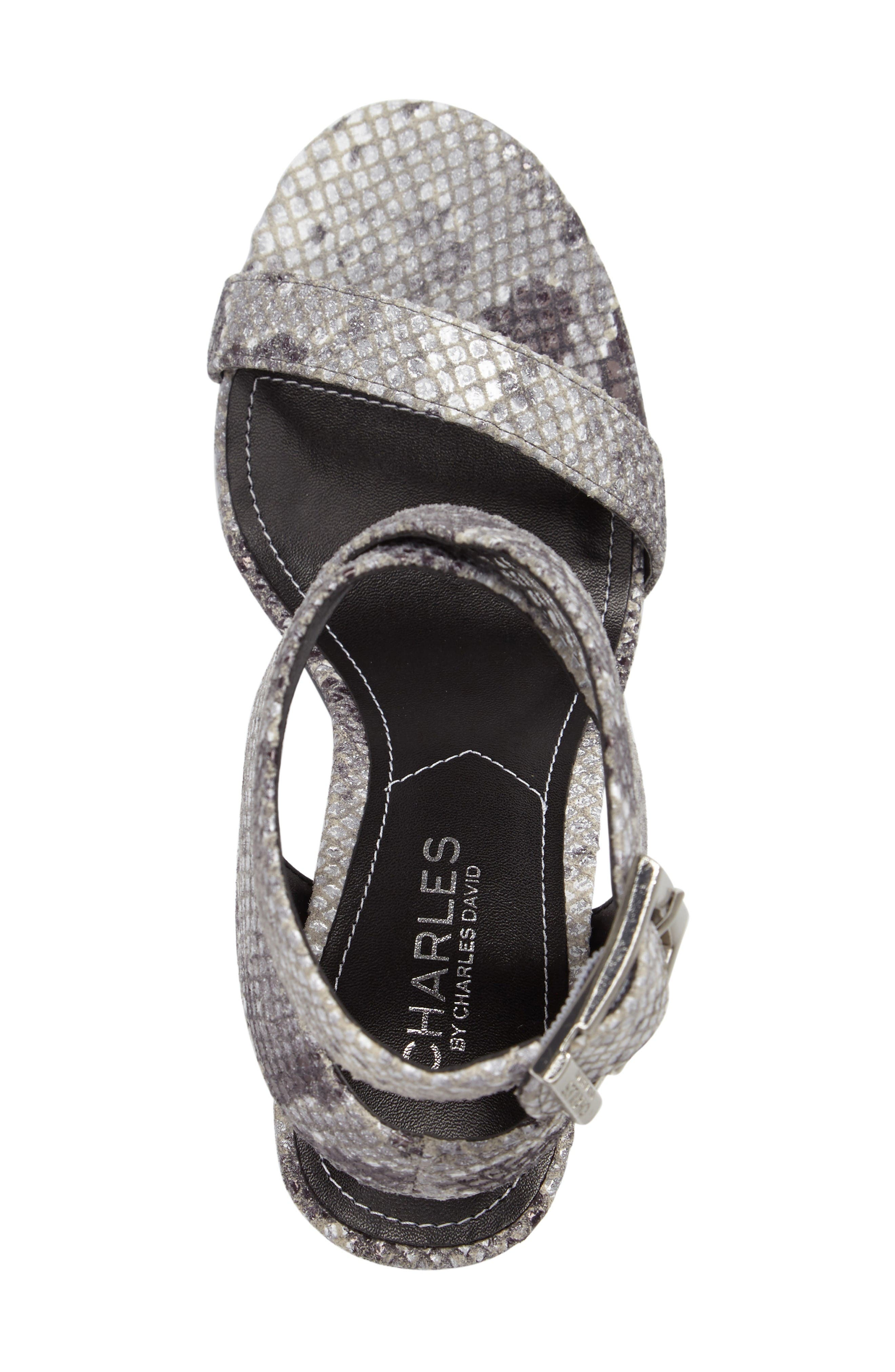 Alternate Image 3  - Charles by Charles David Eddie Sandal (Women)