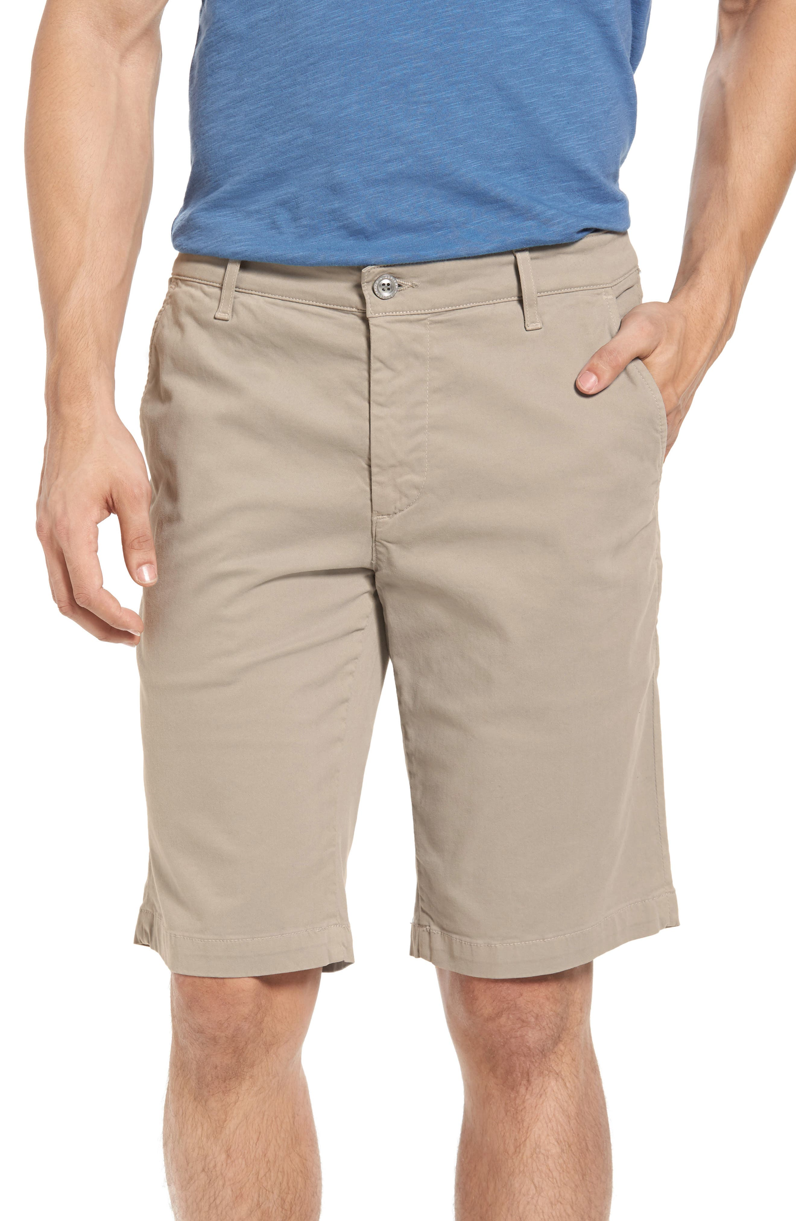 'Griffin' Chino Shorts,                             Main thumbnail 1, color,                             Desert Stone