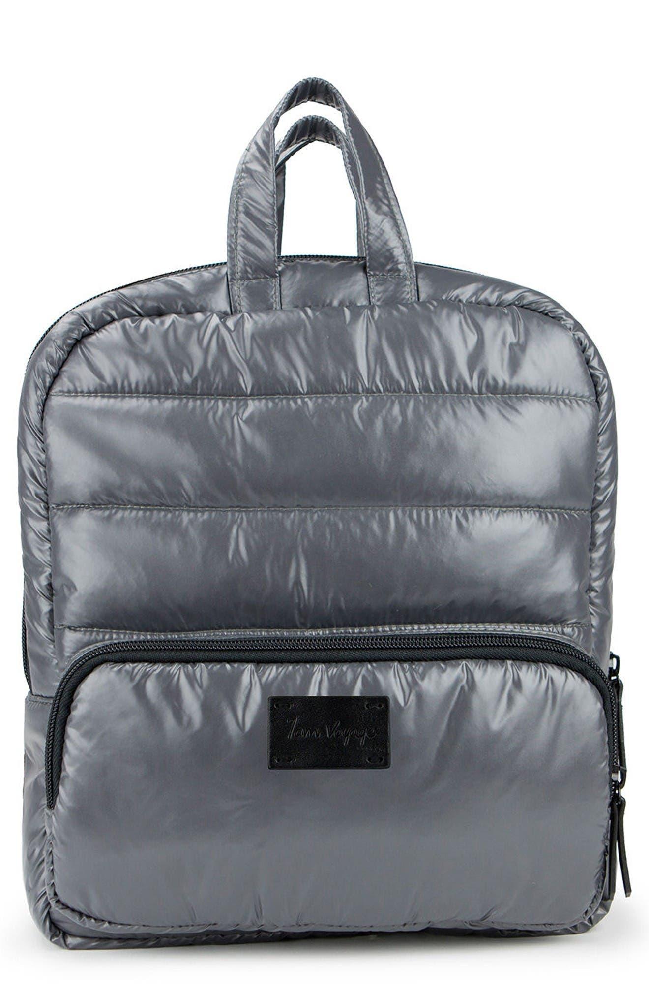 Mini Water Repellent Backpack,                         Main,                         color, Graphite