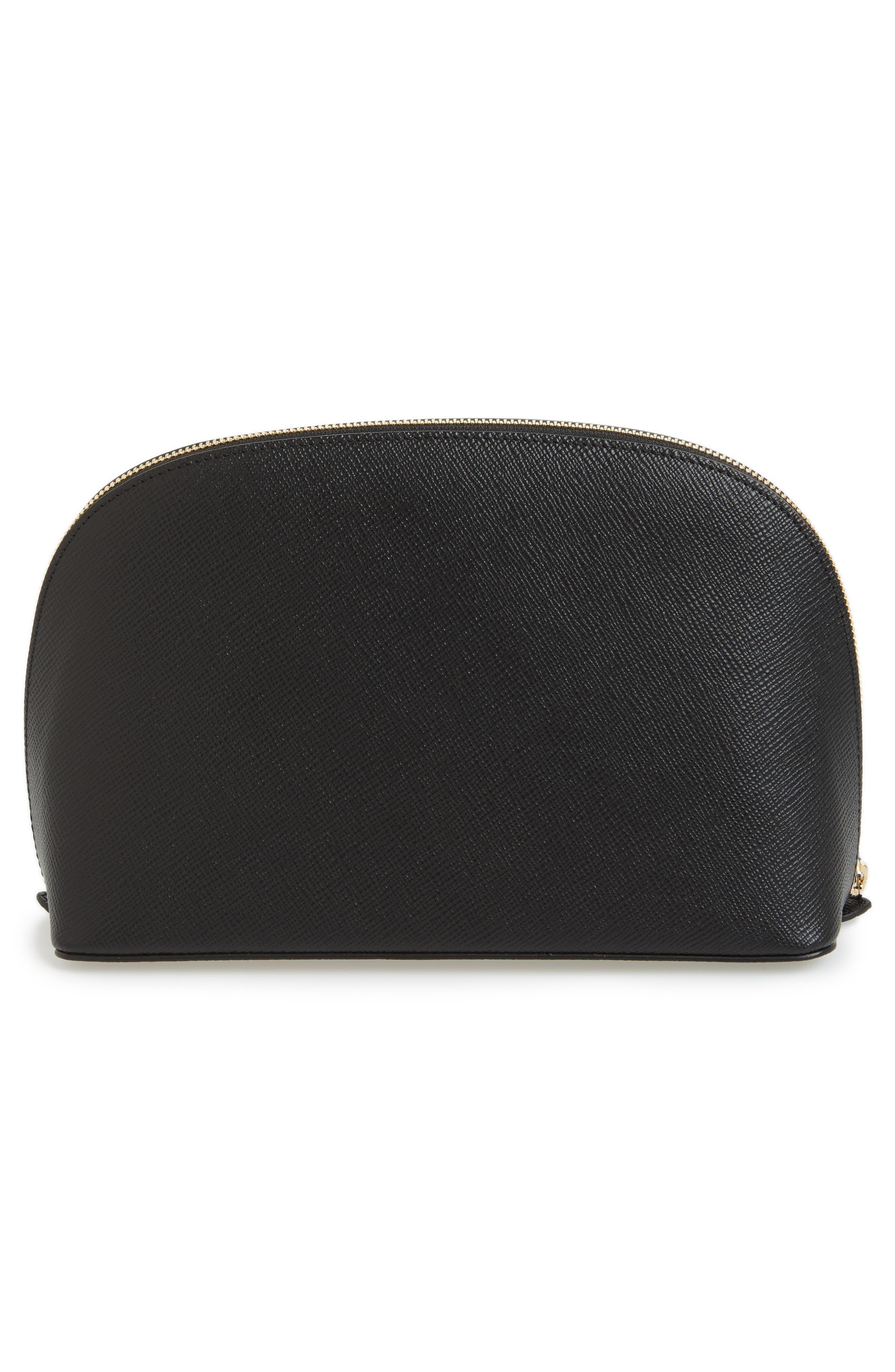 Alternate Image 2  - Smythson Medium Leather Cosmetics Case