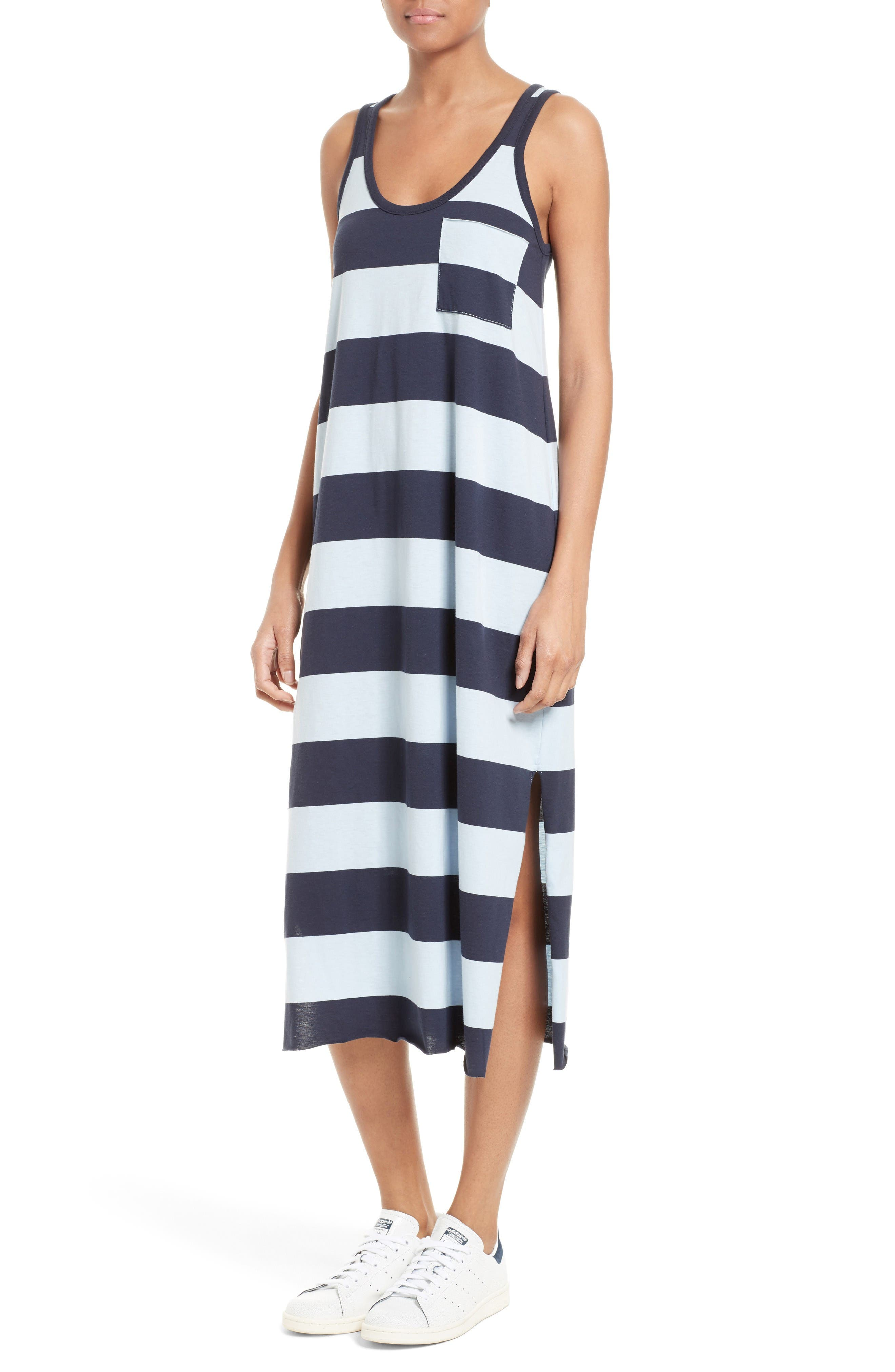 Alternate Image 2  - ATM Anthony Thomas Melillo Stripe Mercerized Jersey Dress