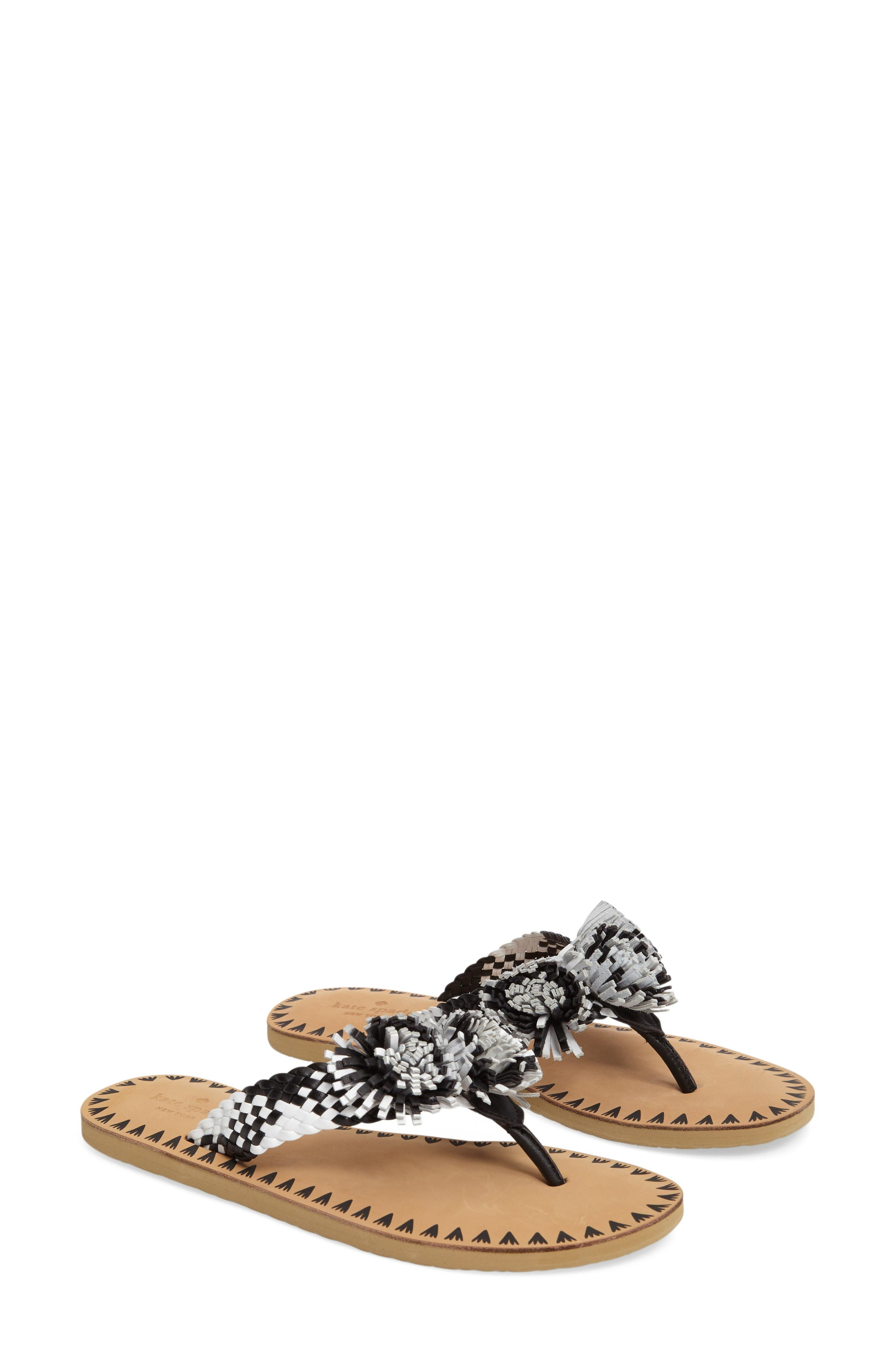 Alternate Image 2  - kate spade new york idette fringe flip flop (Women)