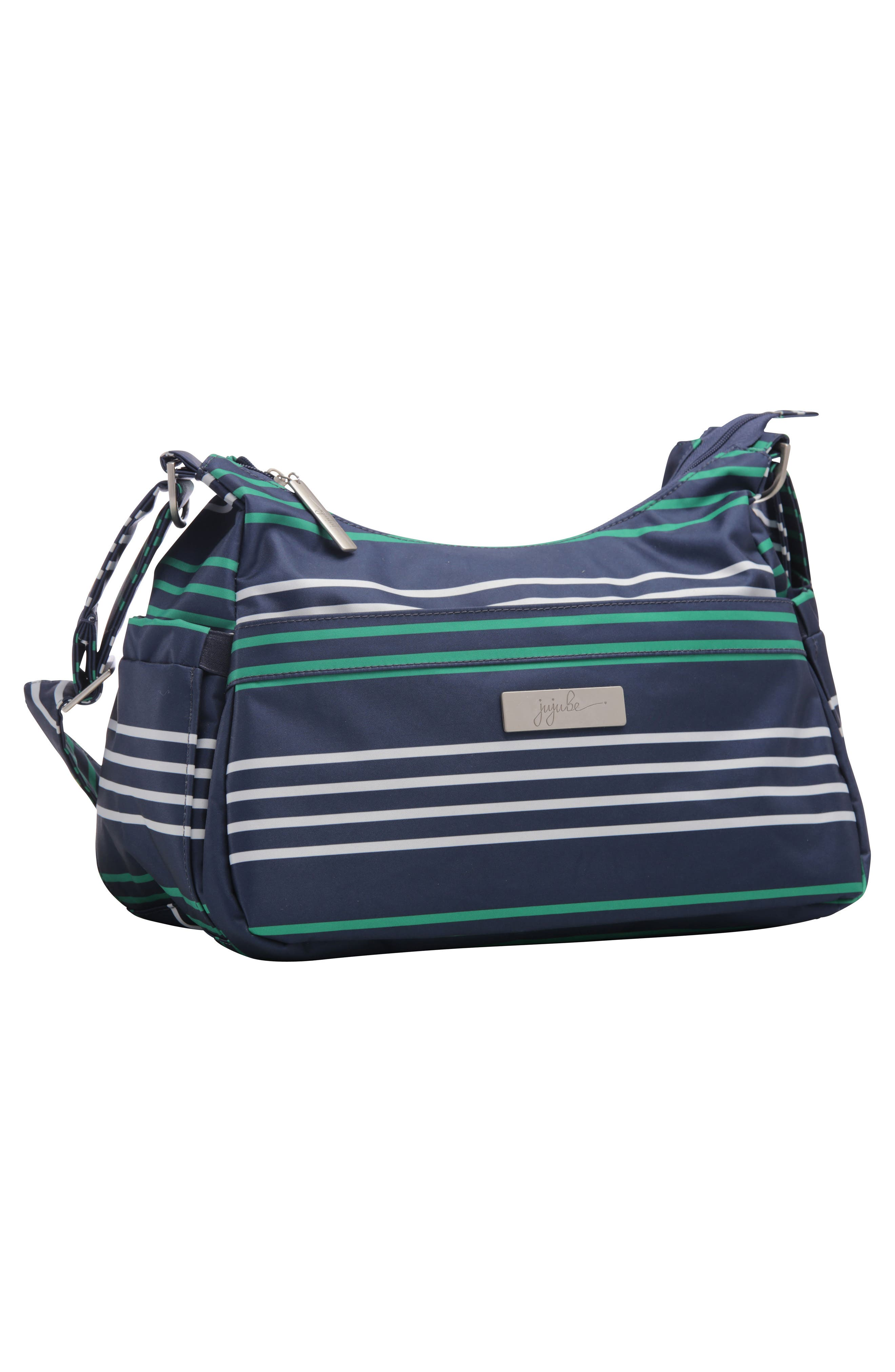 HoboBe - Coastal Collection Diaper Bag,                             Alternate thumbnail 4, color,                             Providence