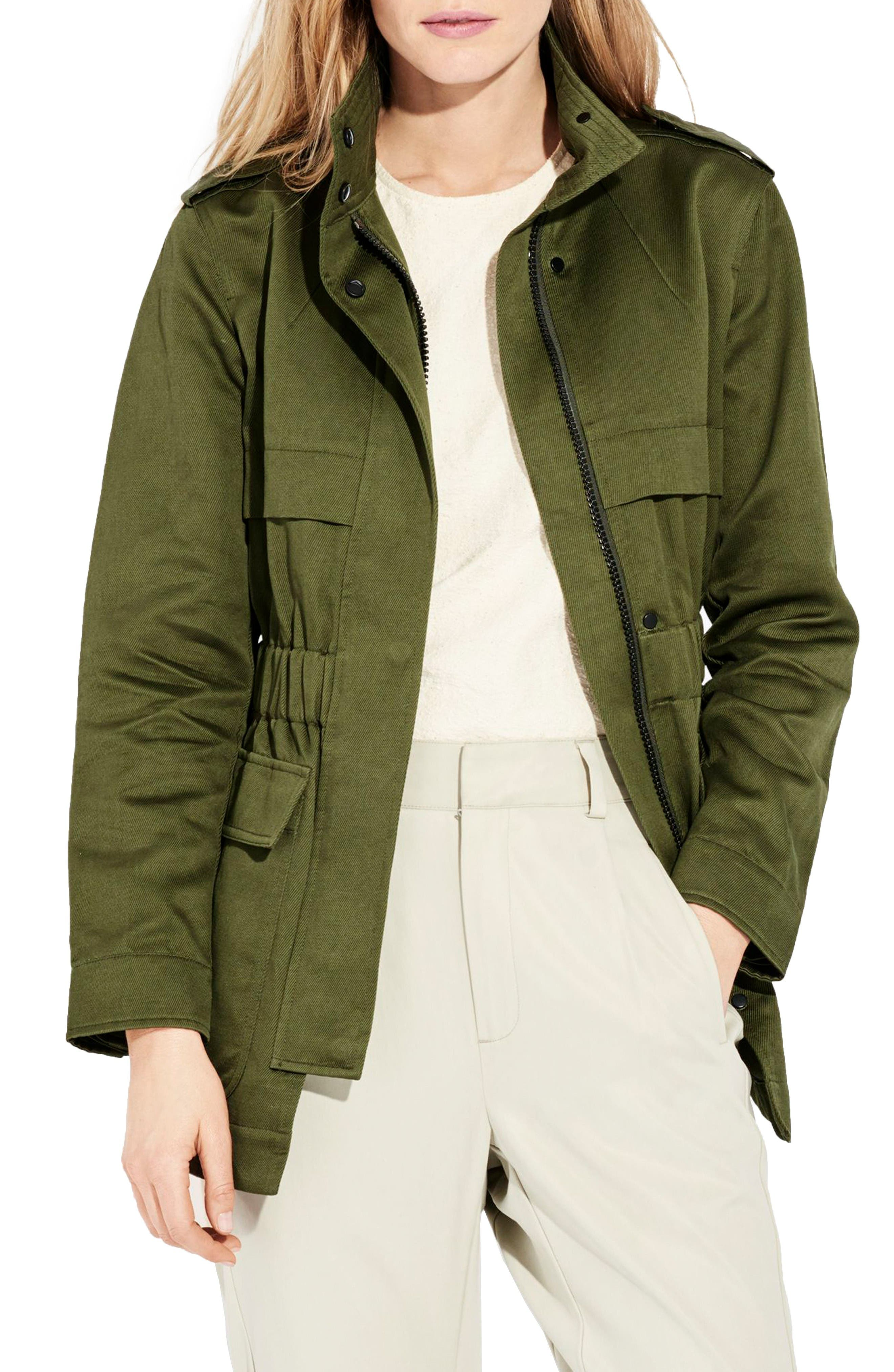 The Nova Utility Jacket,                         Main,                         color, Olive