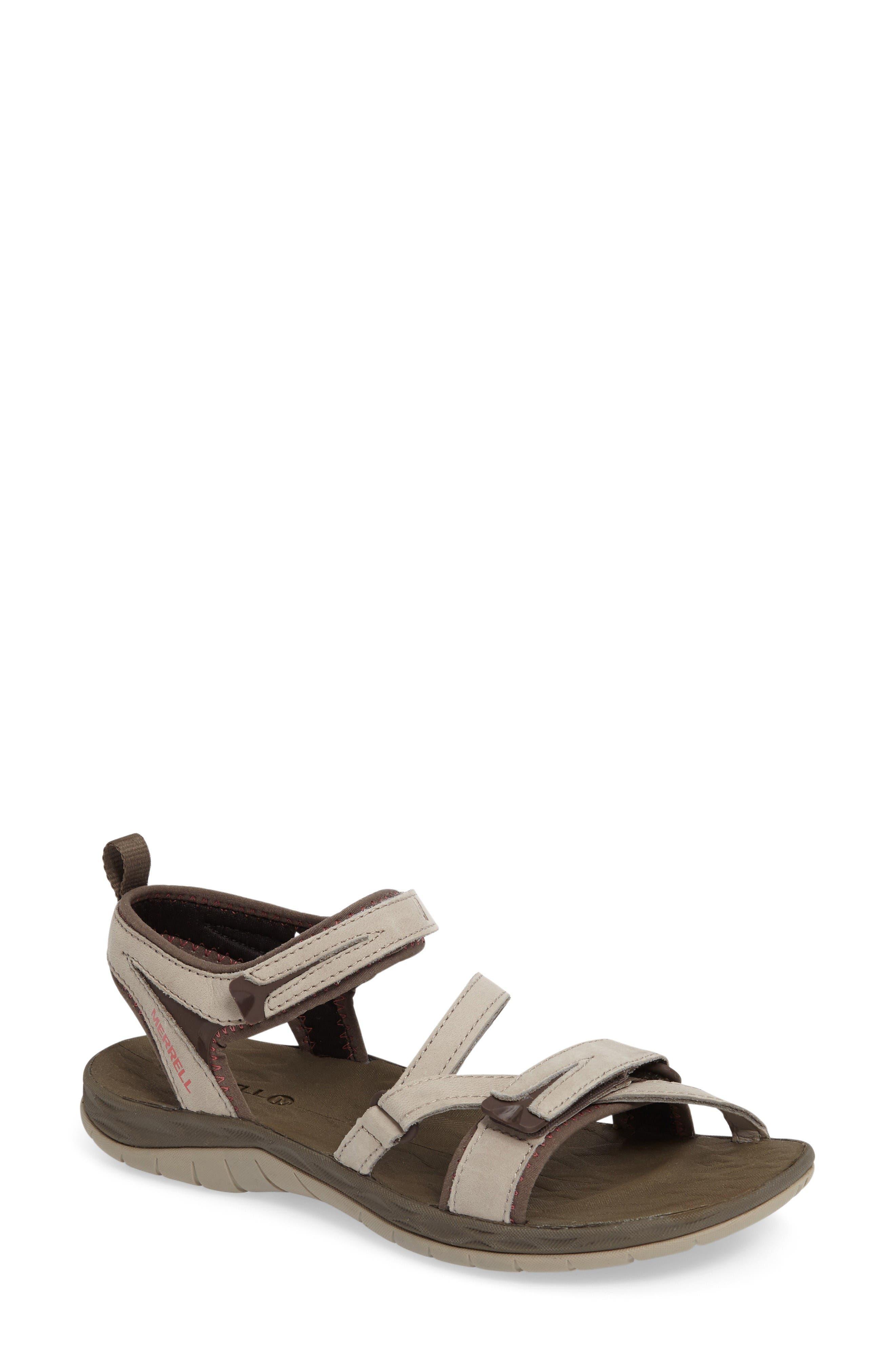 Alternate Image 1 Selected - Merrell Siren Water Friendly Sport Sandal (Women)