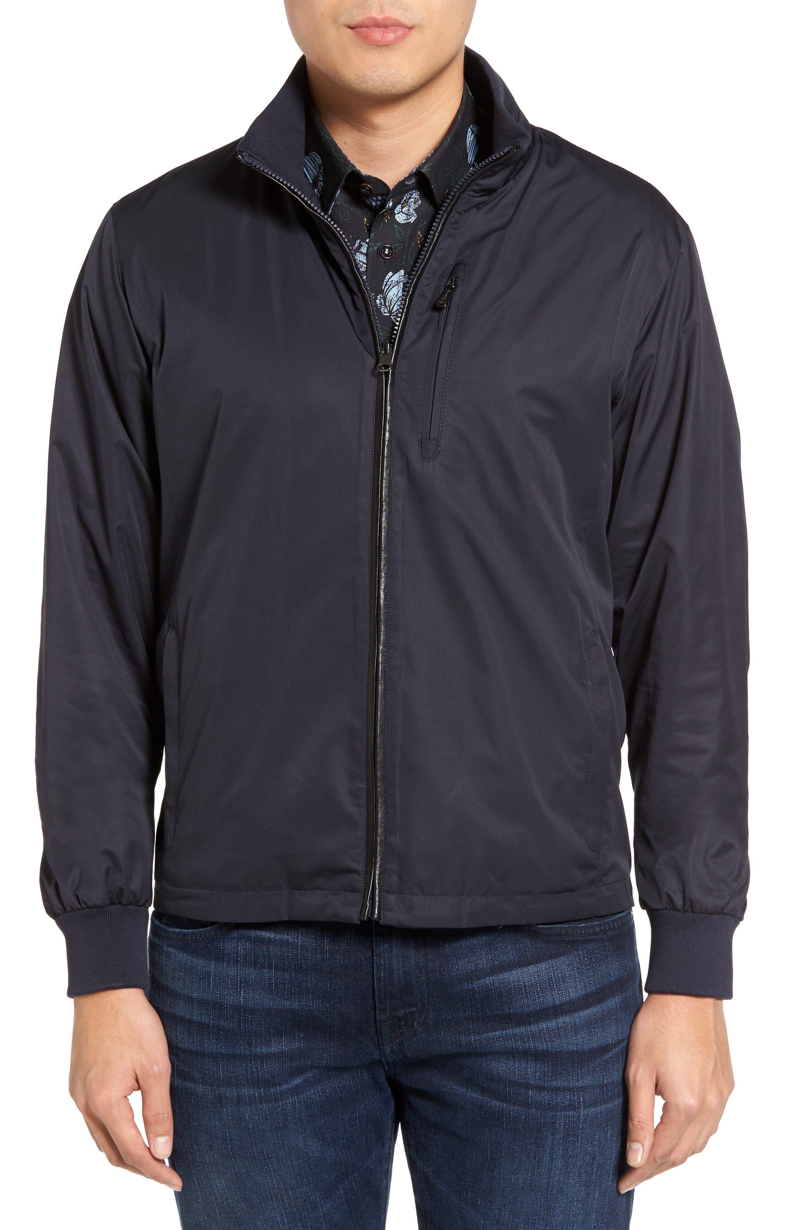 Reversible Jacket,                             Main thumbnail 1, color,                             Navy