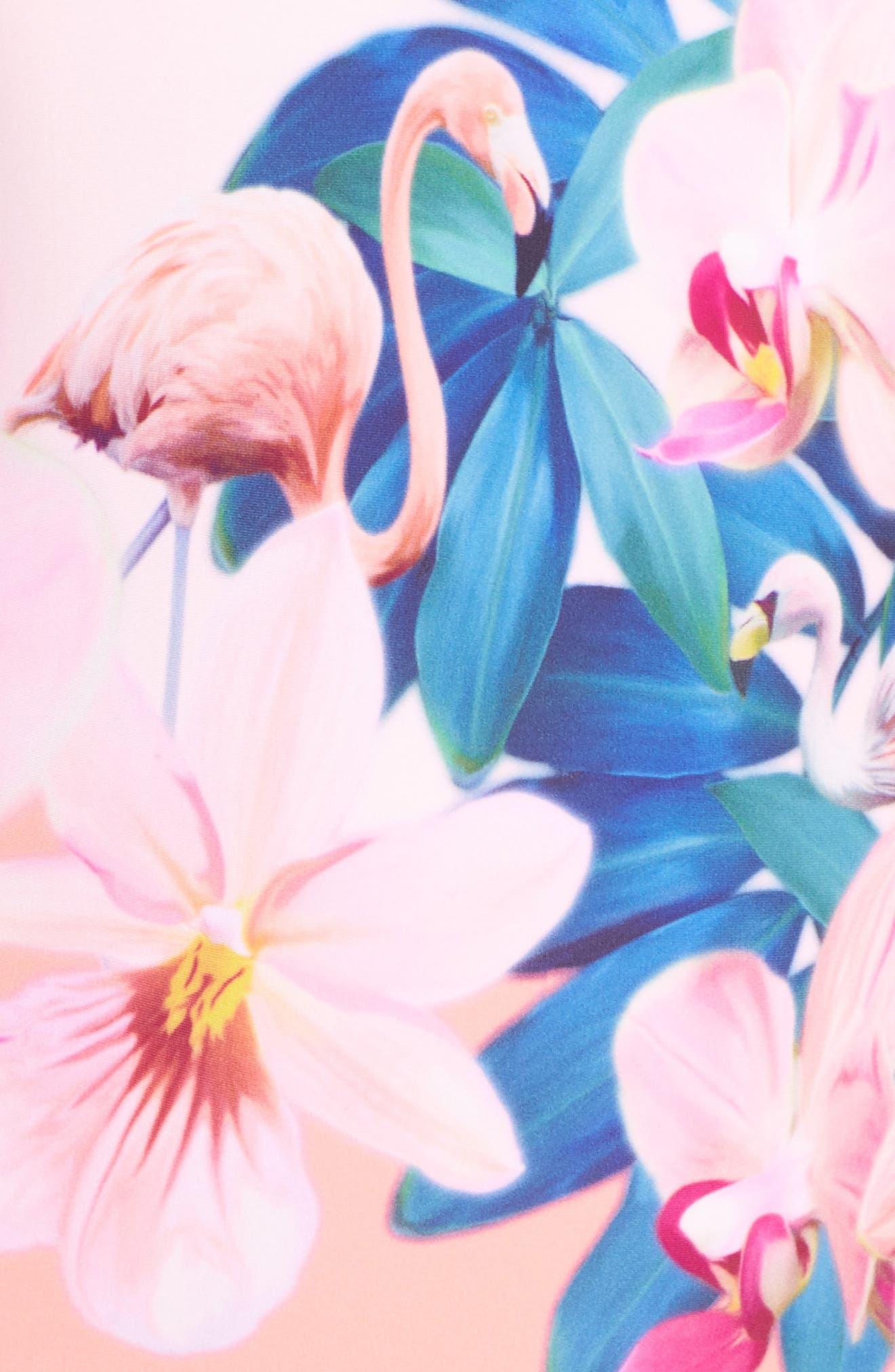 Alternate Image 5  - Ted Baker London Orchid Wonderland One-Piece Swimsuit