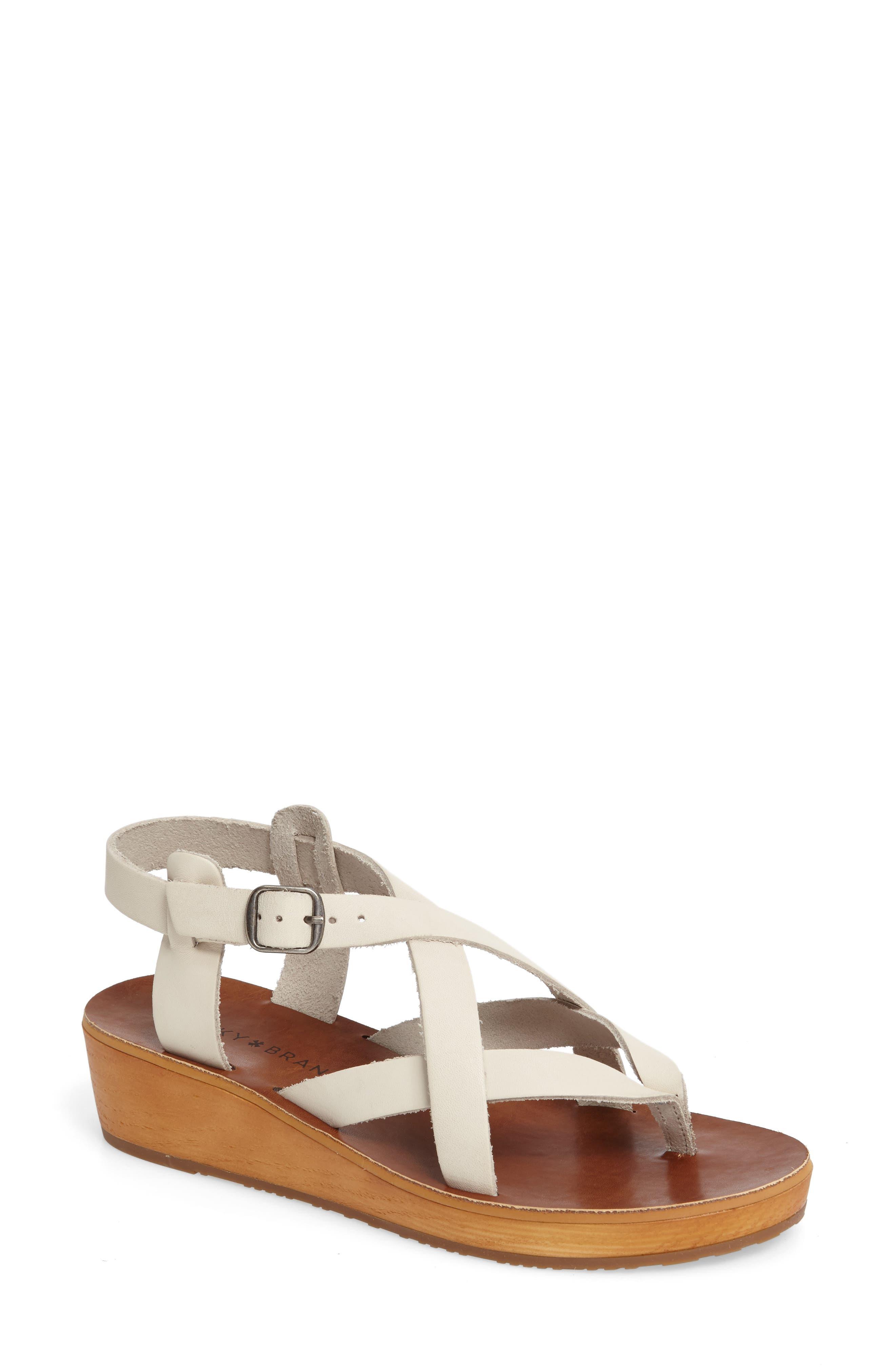 Lucky Brand Hadinas Wedge Sandal (Women)