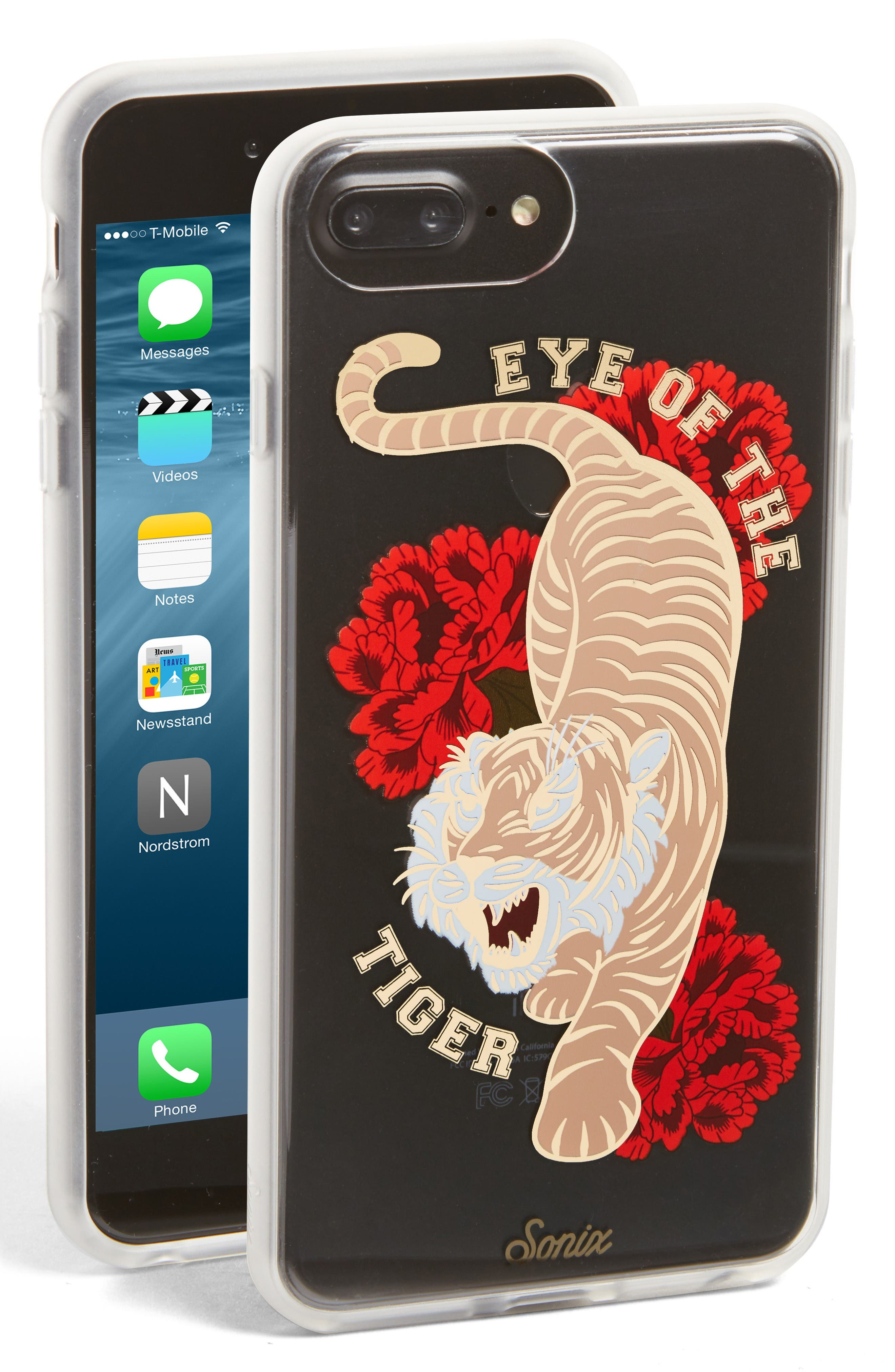 Alternate Image 1 Selected - Sonix Eye of the Tiger iPhone 6/6s/7/8 & 6/6s/7/8 Plus Case