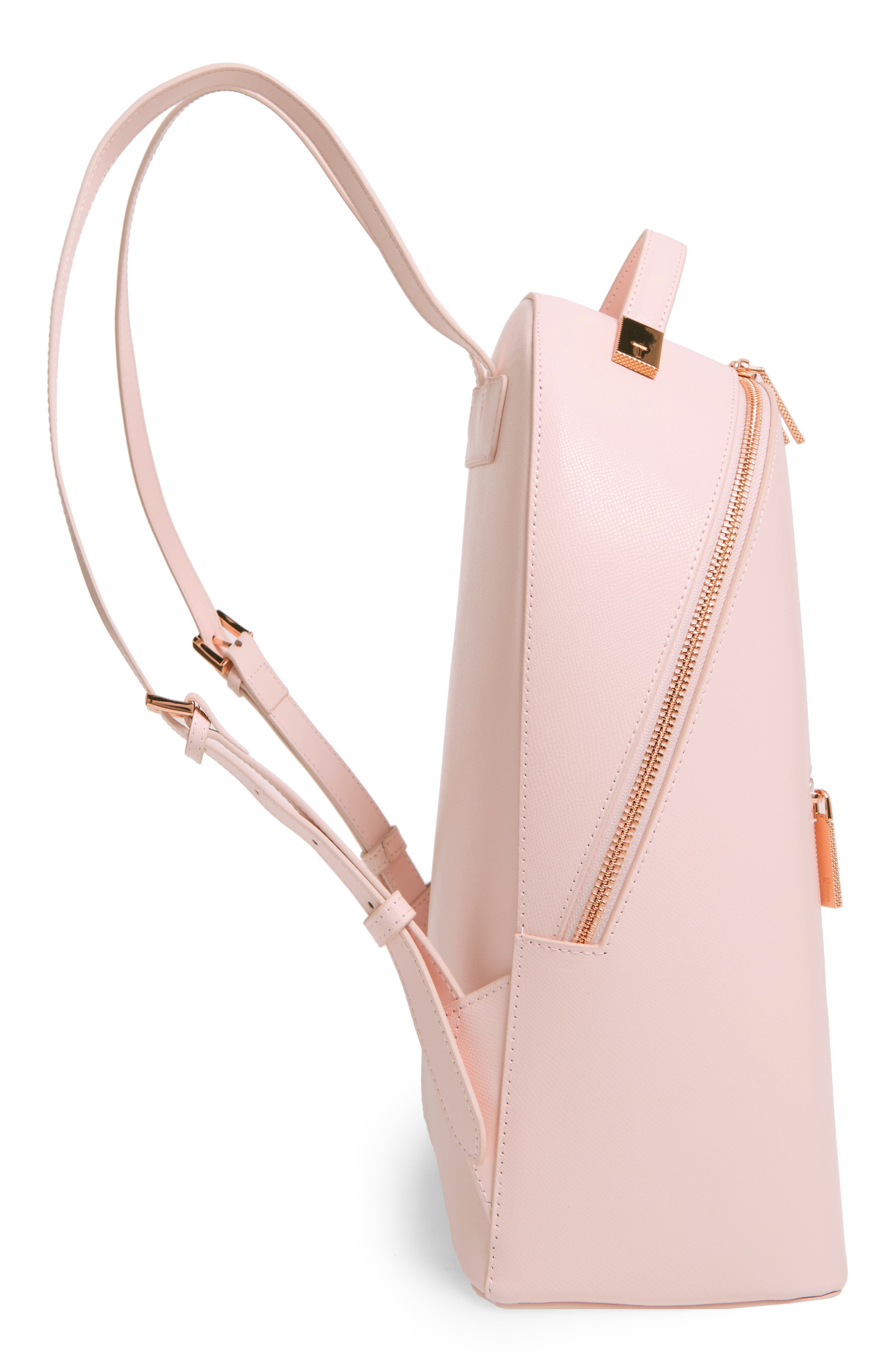 Alternate Image 5  - Ted Baker London Mini Jarvis Leather Backpack