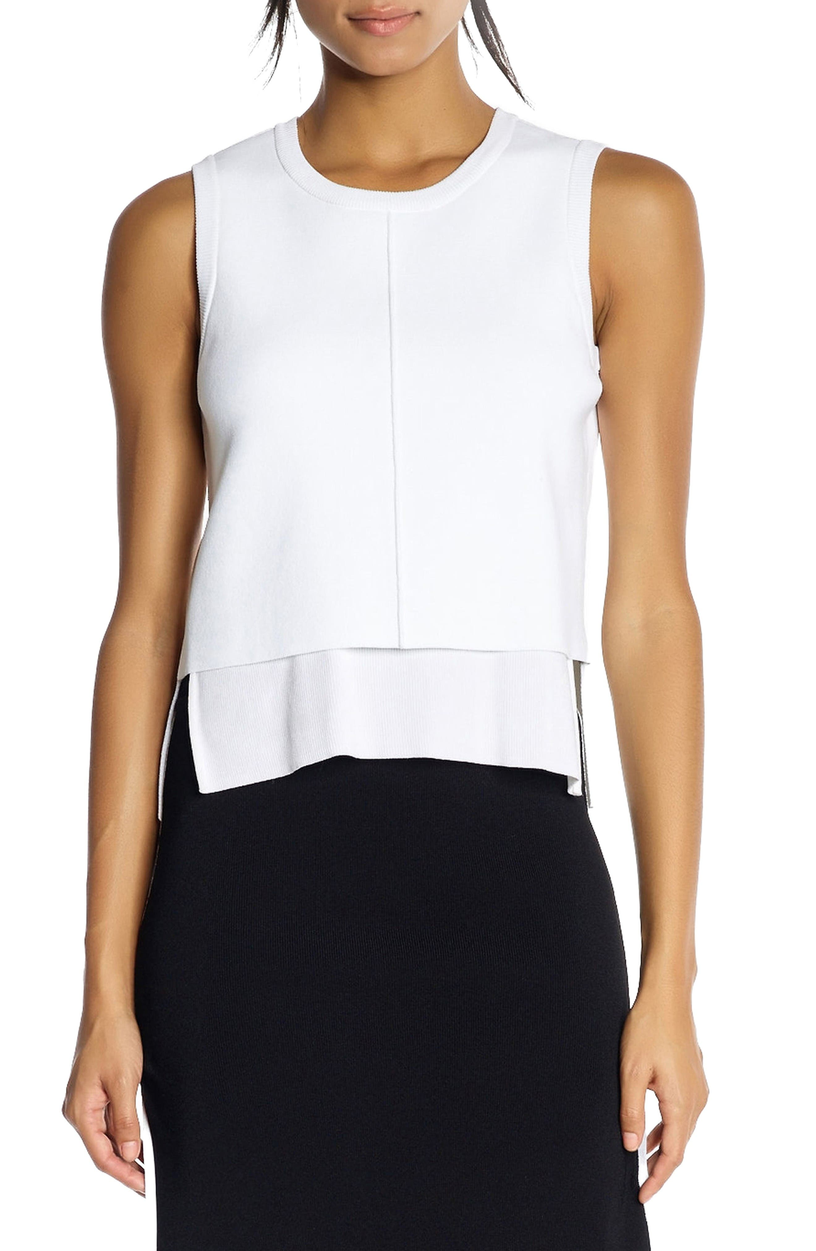 Alternate Image 1 Selected - KENDALL + KYLIE Layered Split Back Tank