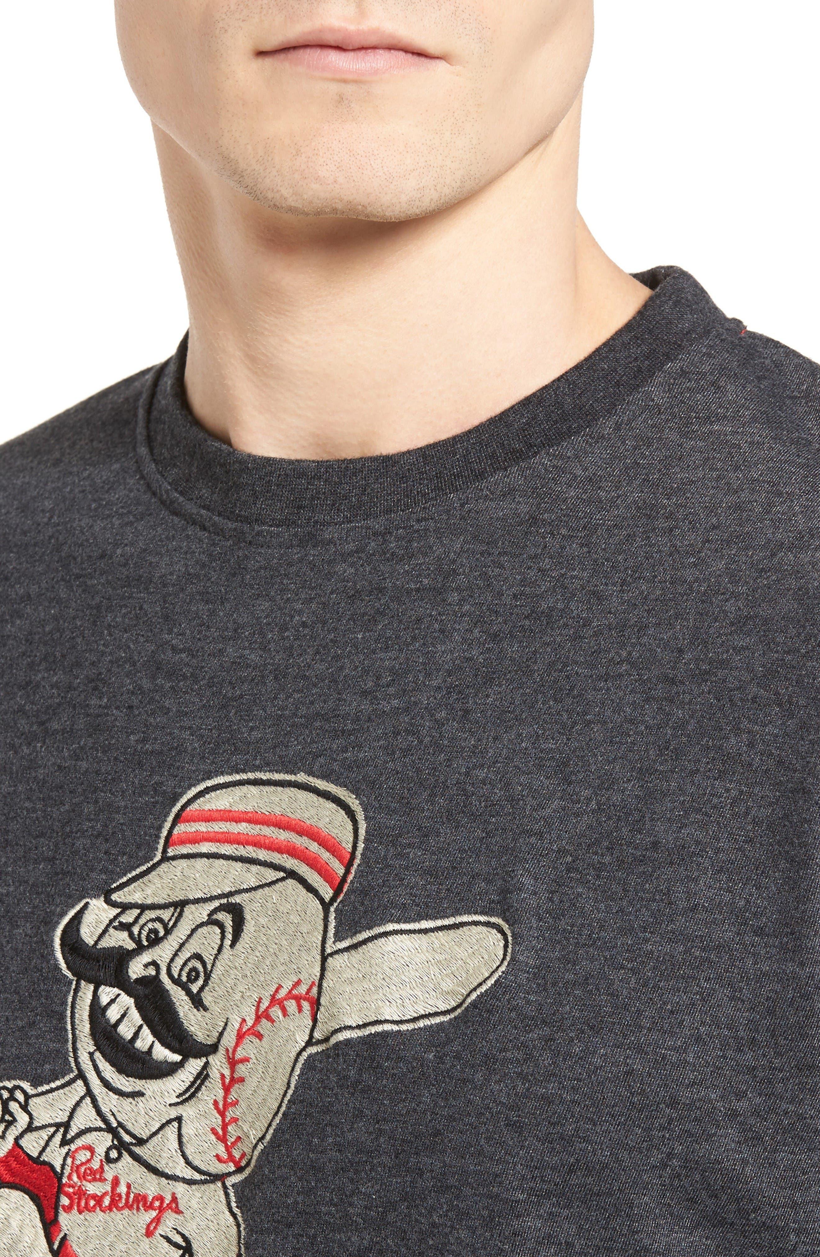 Alternate Image 4  - American Needle Hillwood Cincinnati Reds T-Shirt