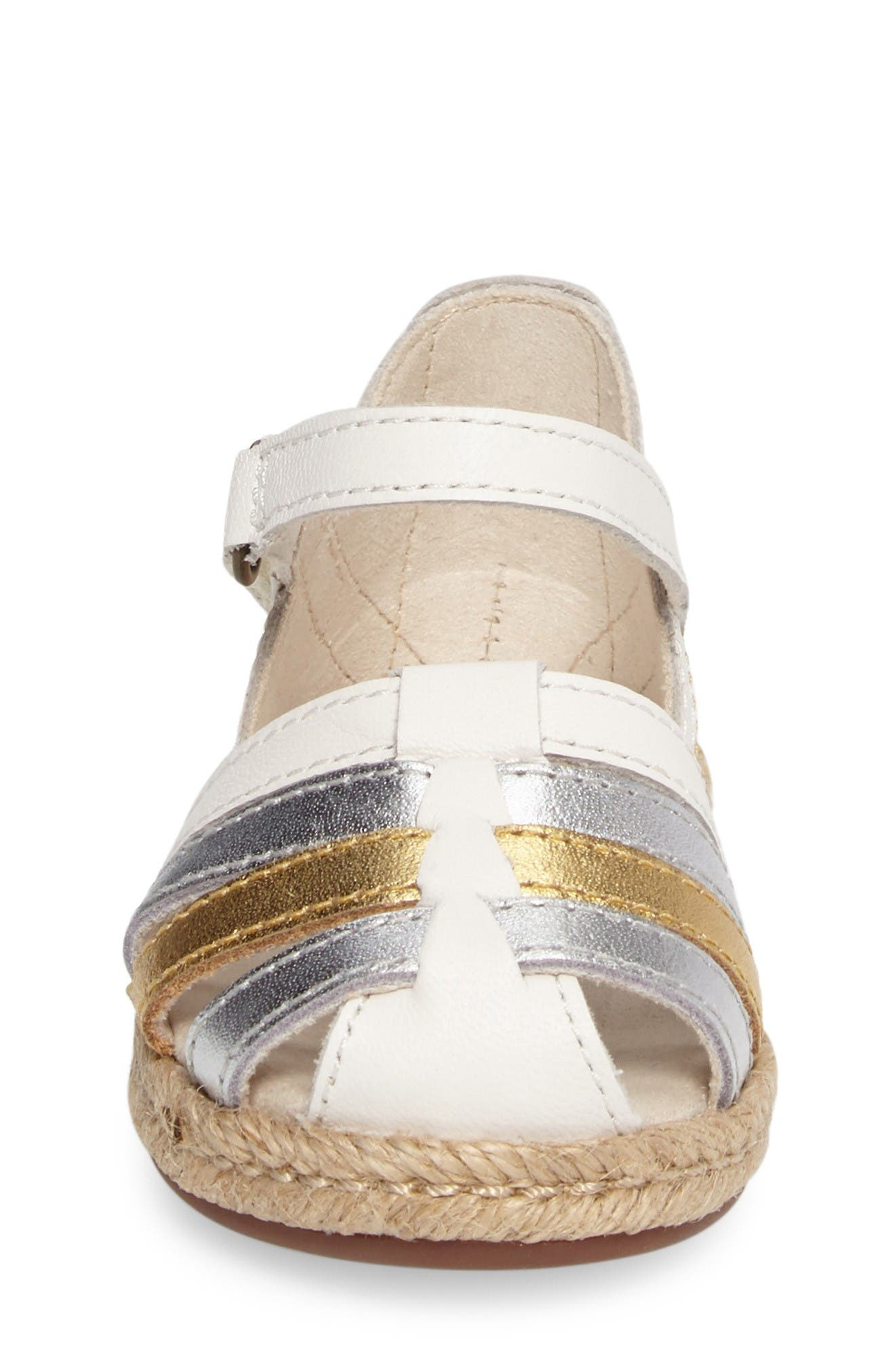 Alternate Image 4  - UGG® Matilde Espadrille Sandal (Walker & Toddler)