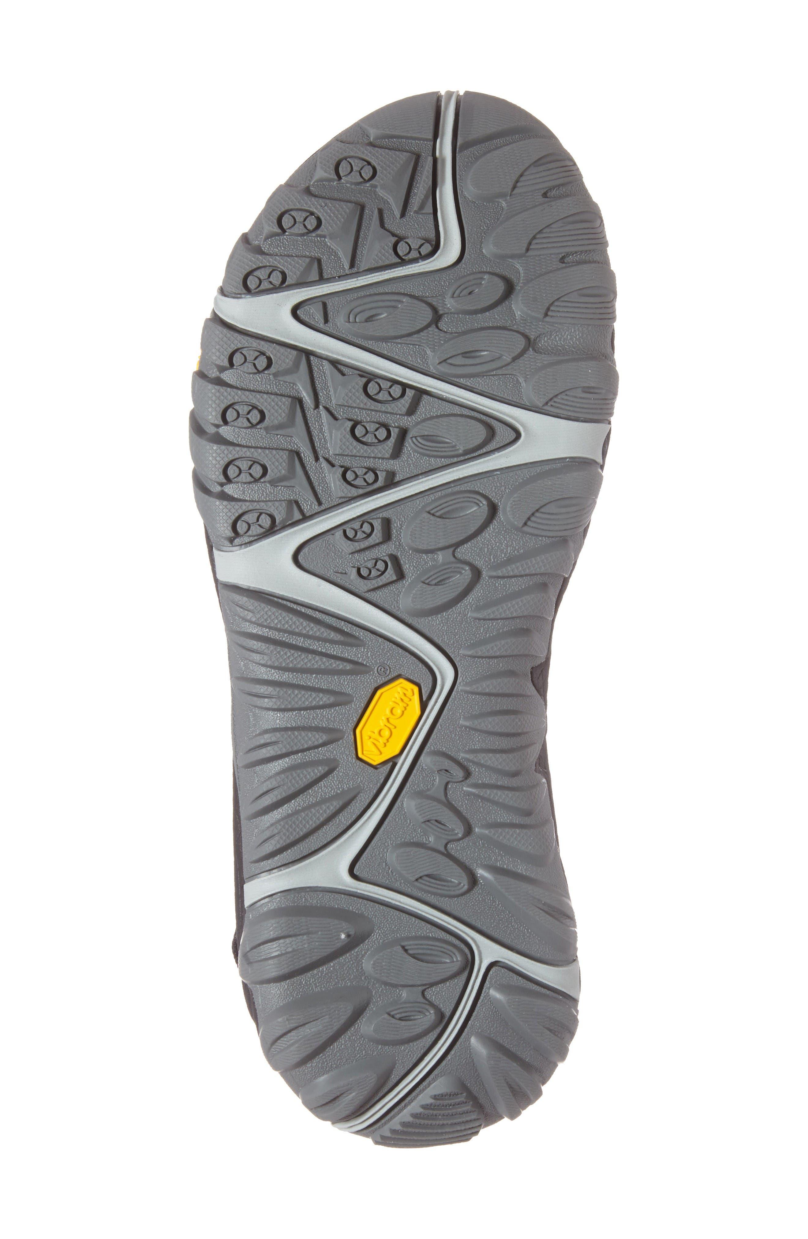 All Out Blaze Sport Sandal,                             Alternate thumbnail 6, color,                             Black Fabric