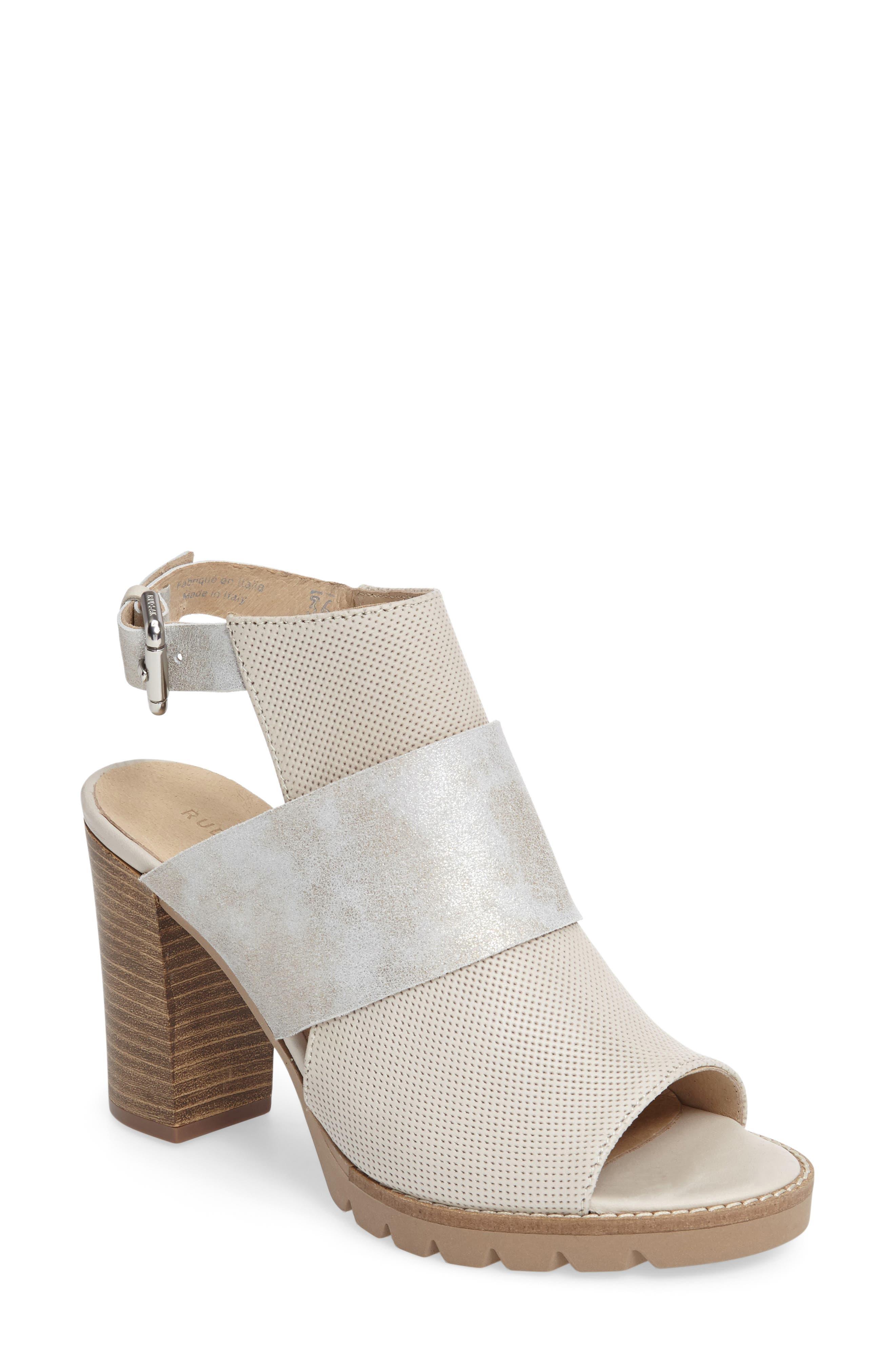 Alternate Image 1 Selected - Rudsak Brittni Block Heel Sandal (Women)
