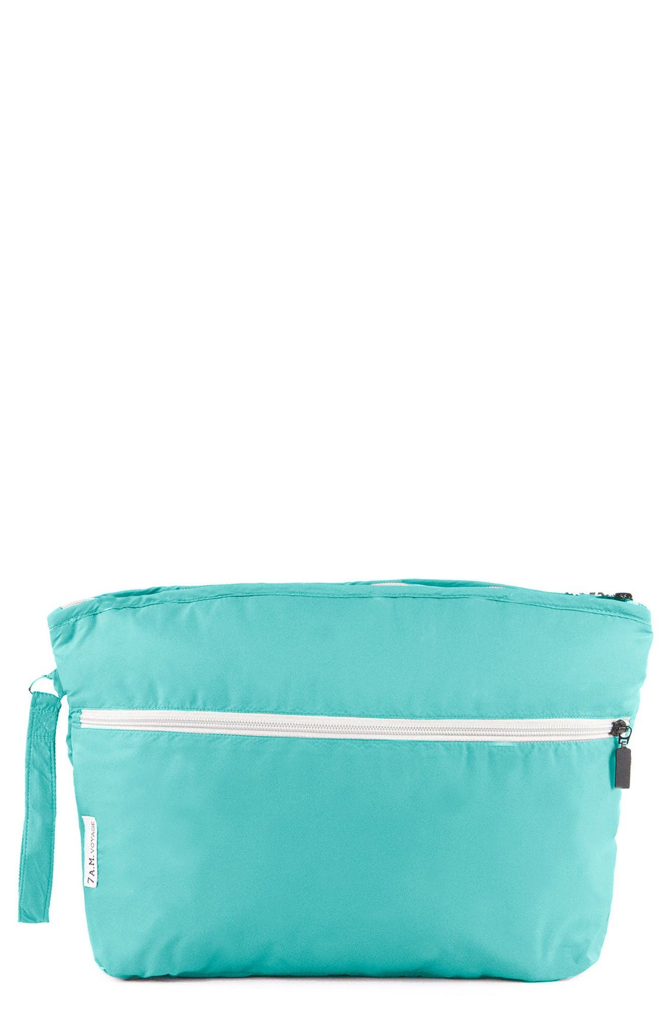 Alternate Image 1 Selected - 7 A.M. Enfant Small Water Repellent Clutch