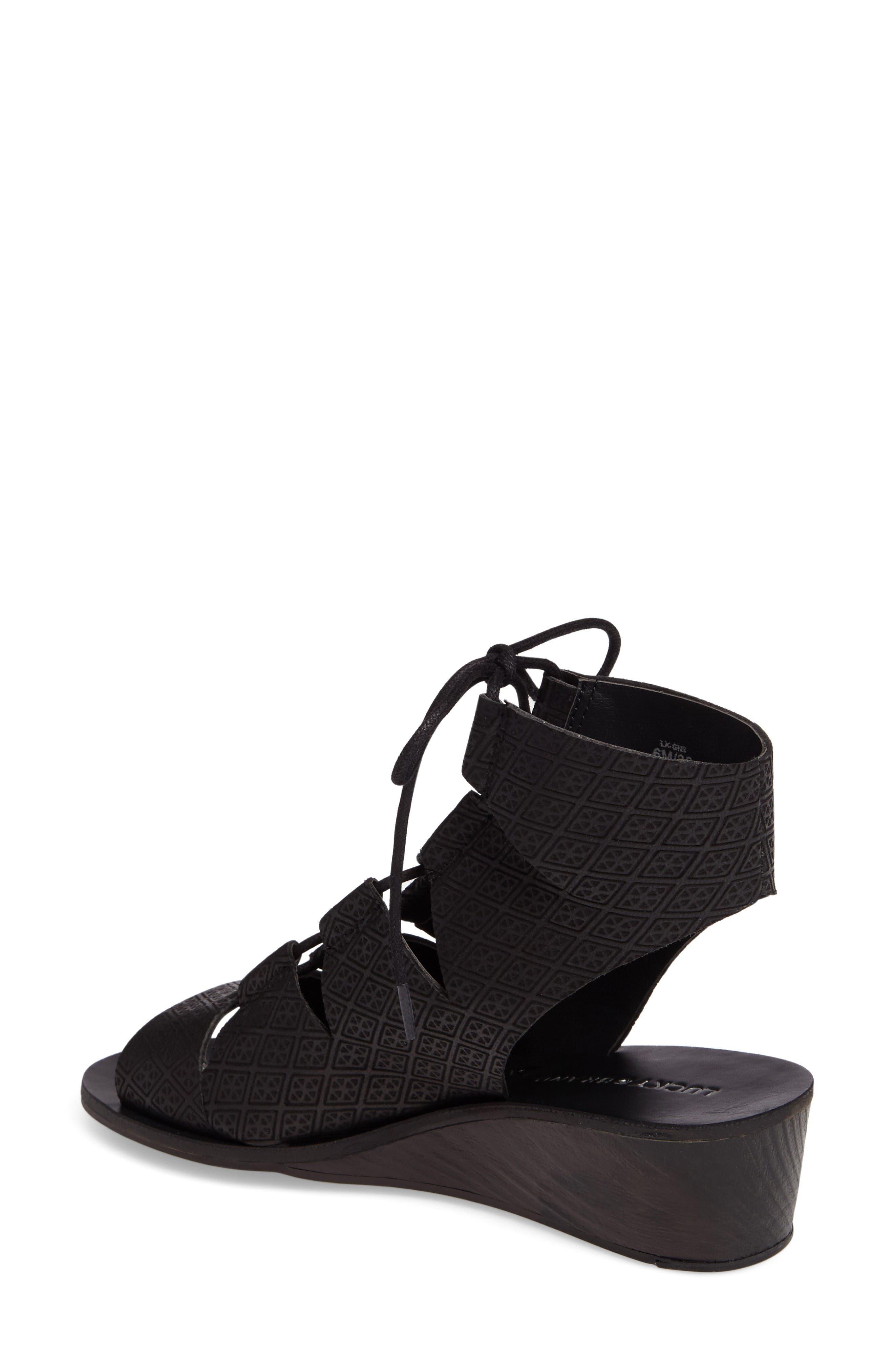 Alternate Image 2  - Lucky Brand Gizi Wedge Sandal (Women)