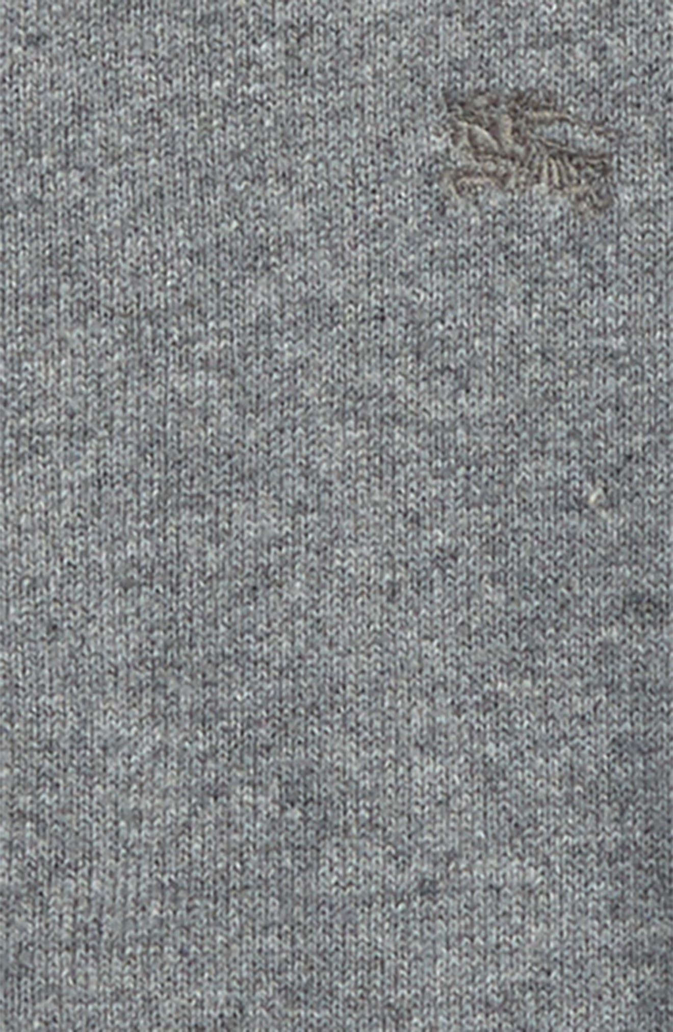 Alternate Image 2  - Burberry 'Mini Jaxson' Front Zip Cotton Cardigan (Baby & Toddler)