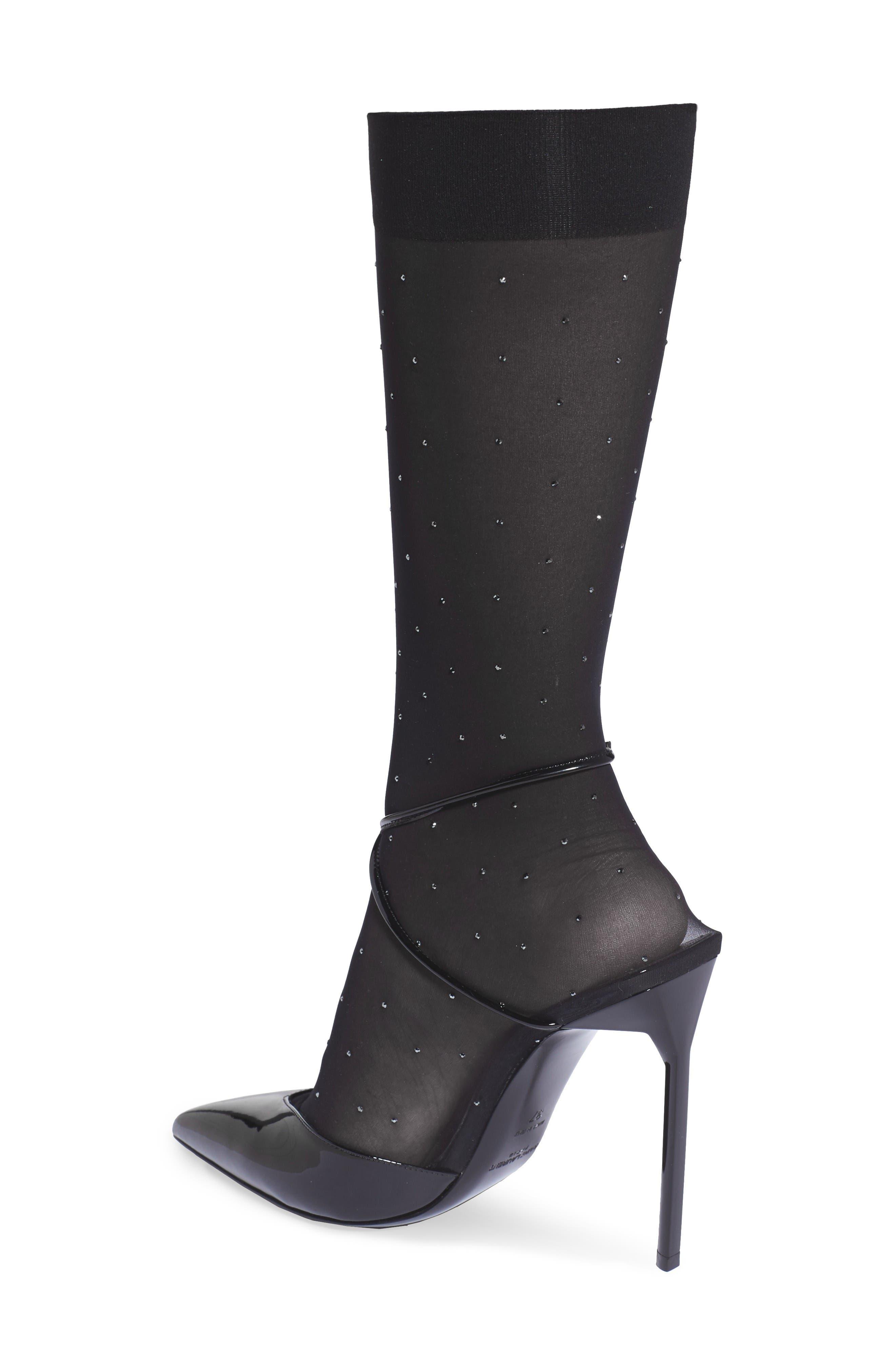 Alternate Image 2  - Saint Laurent Edie Sock Pump (Women)