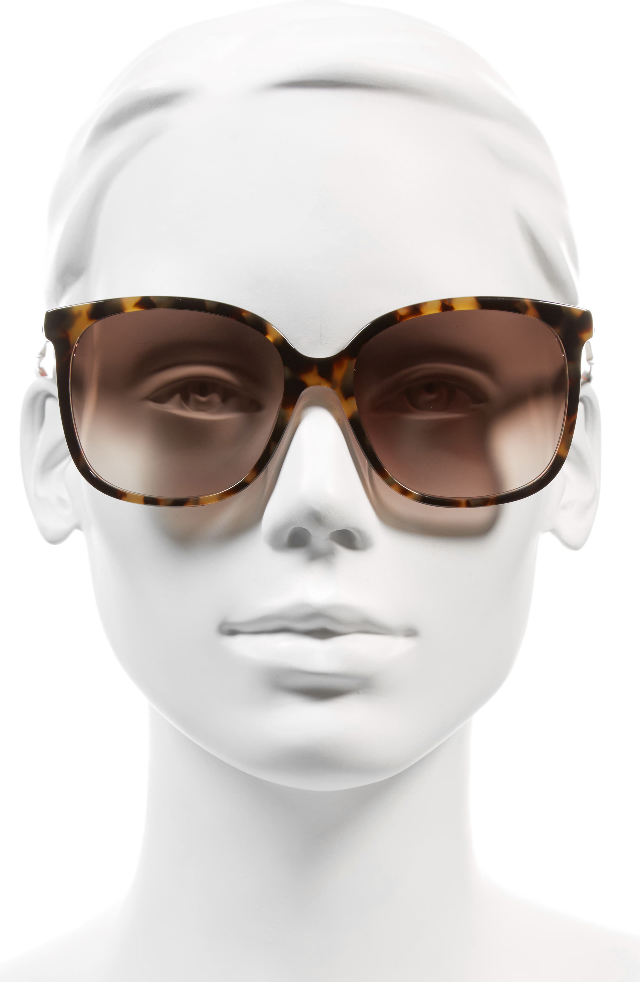 Alternate Image 2  - kate spade new york mackenzee 57mm Sunglasses