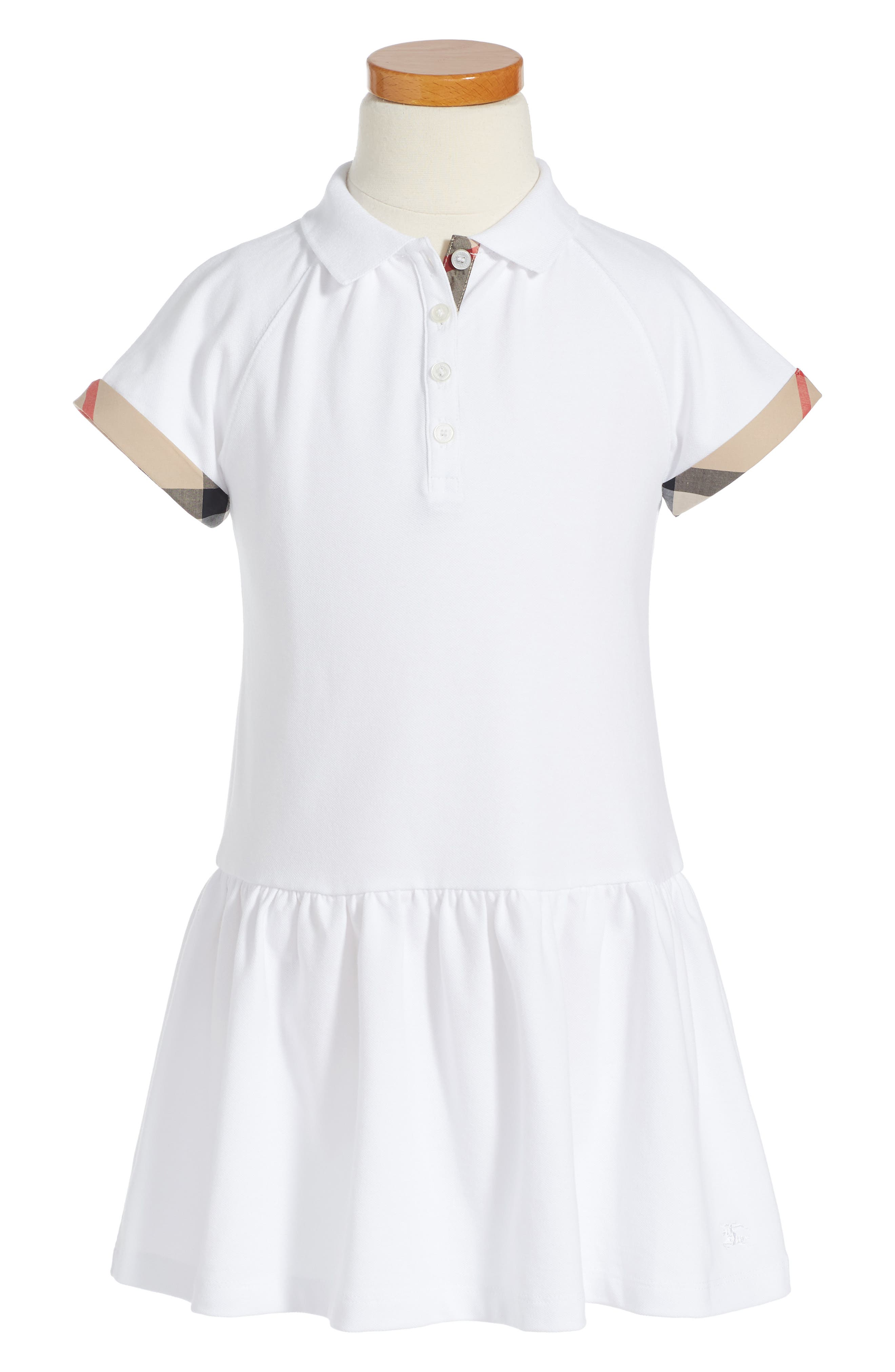 Alternate Image 1 Selected - Burberry Cali Dress (Little Girls & Big Girls)