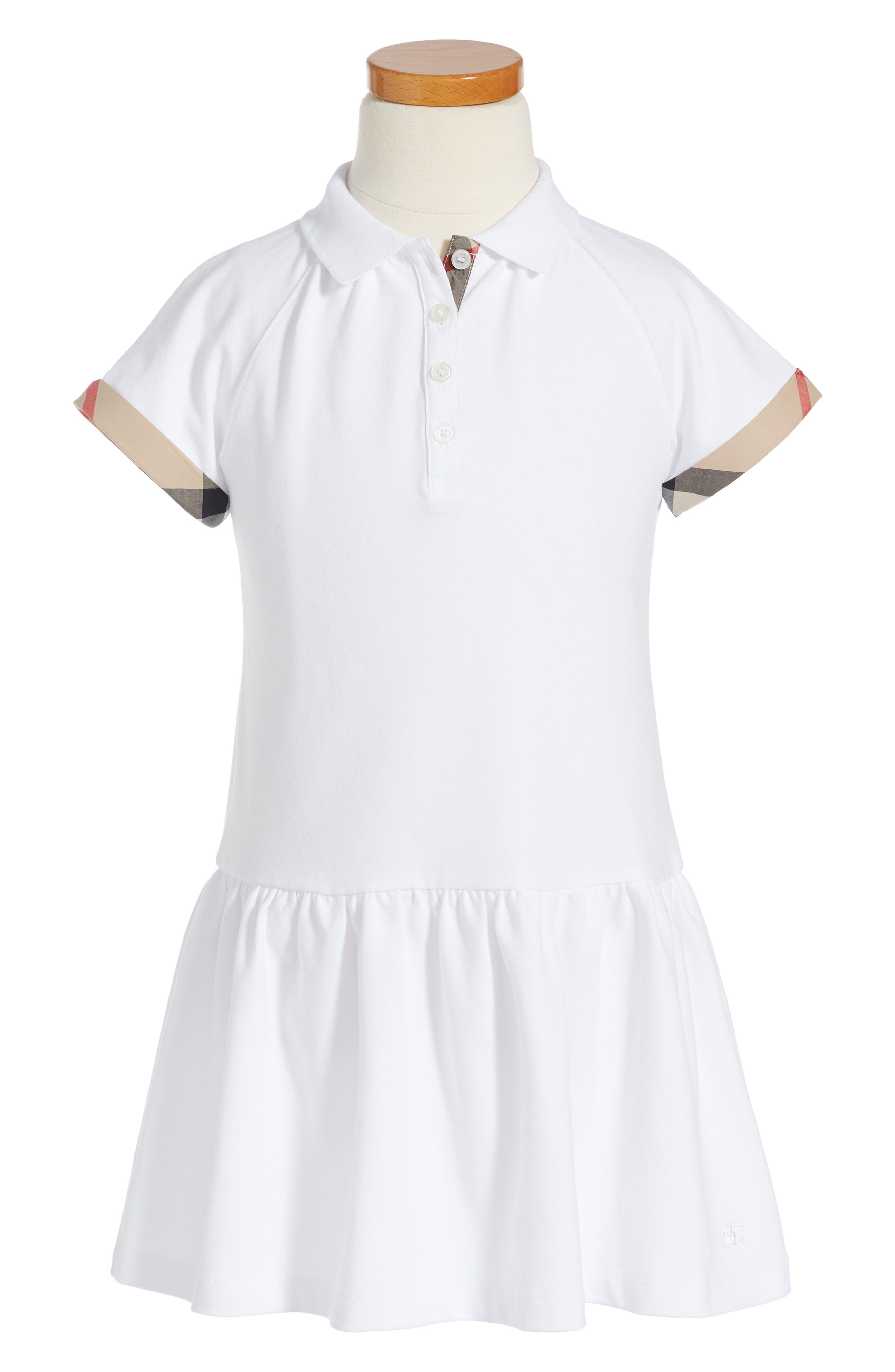 Main Image - Burberry Cali Dress (Little Girls & Big Girls)