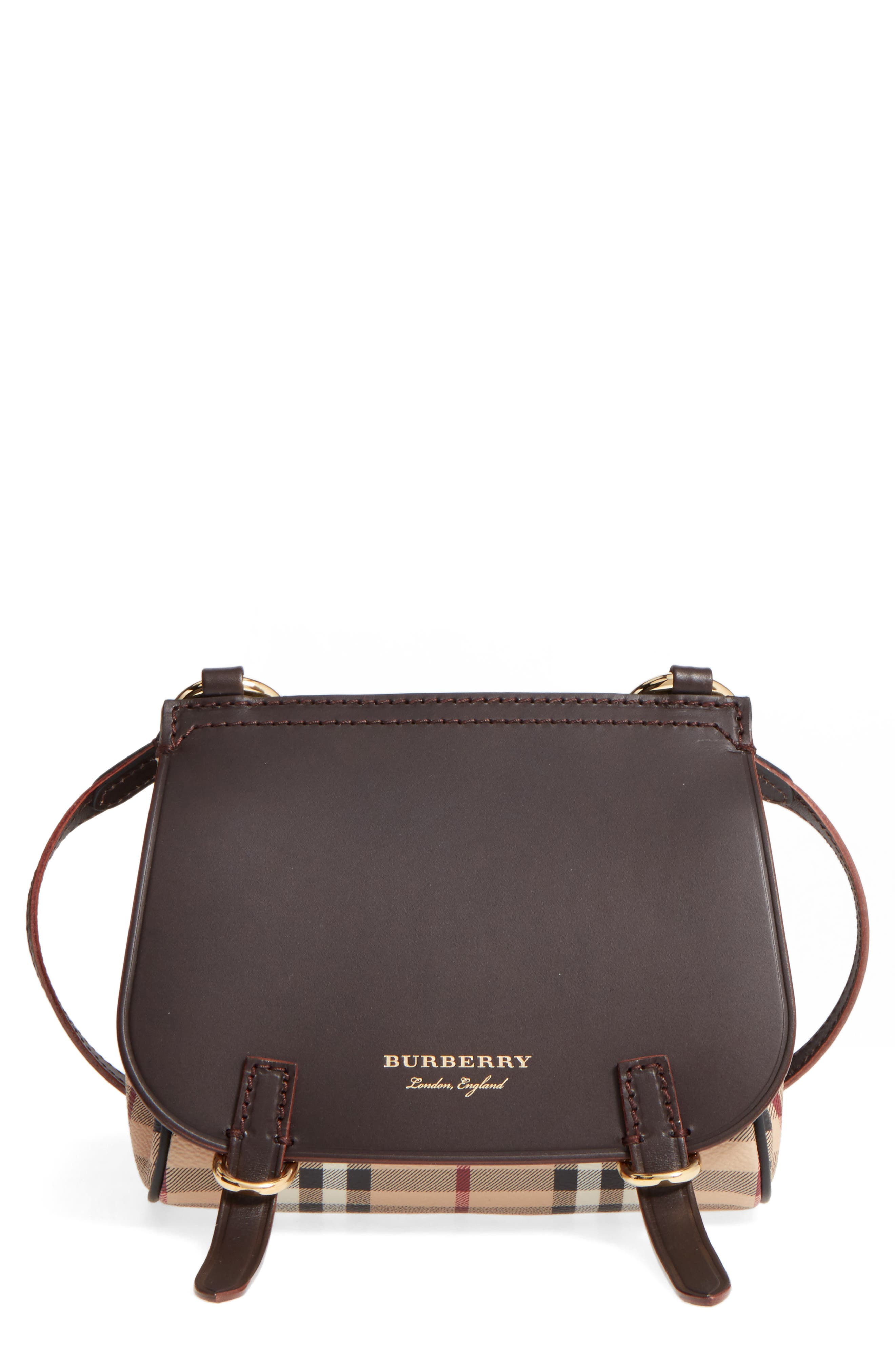 Main Image - Burberry Bridle Shoulder Bag
