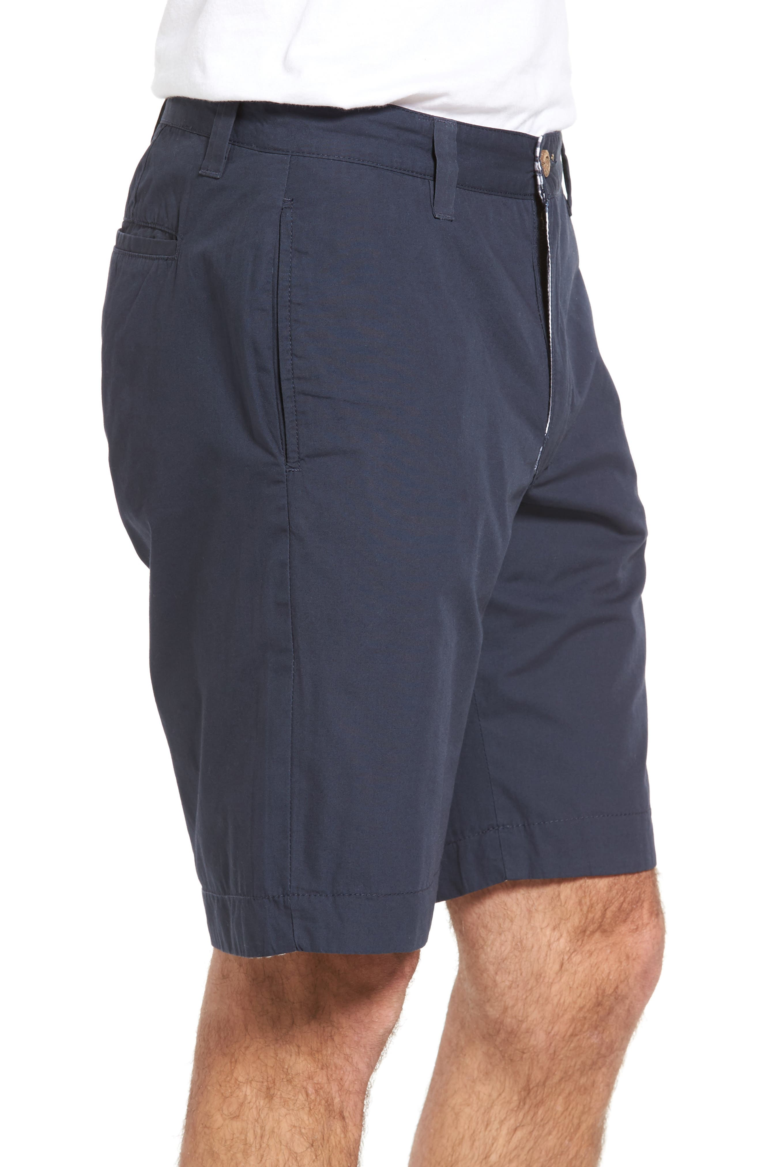 Reversible Walking Shorts,                             Alternate thumbnail 3, color,                             Navy/ Seersucker/ Navy