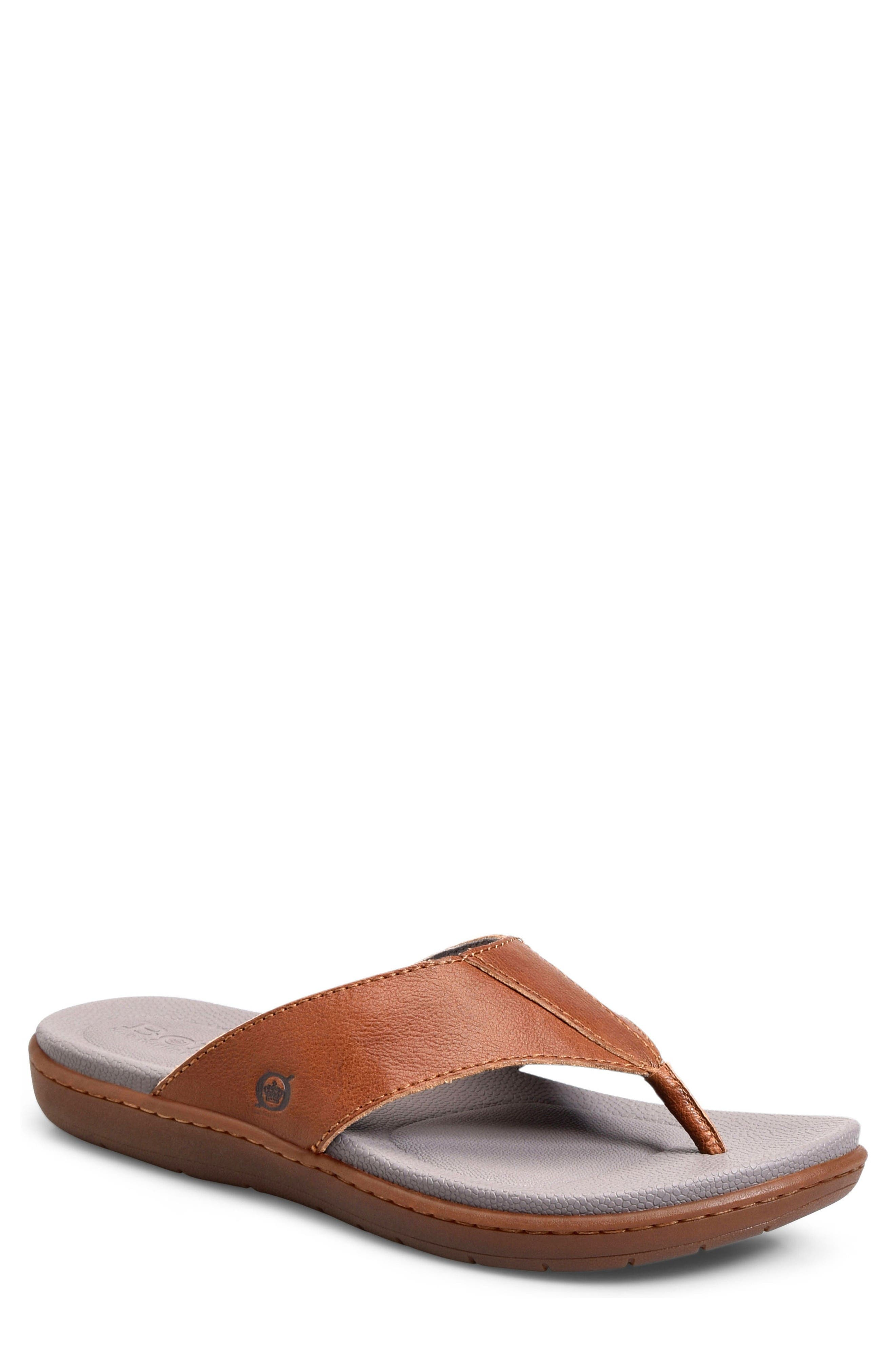 Cedro Flip Flop,                         Main,                         color, Brown