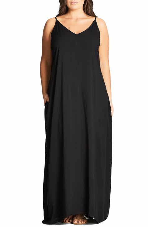 a6ea840e32da City Chic V-Neck Maxi Dress (Plus Size)