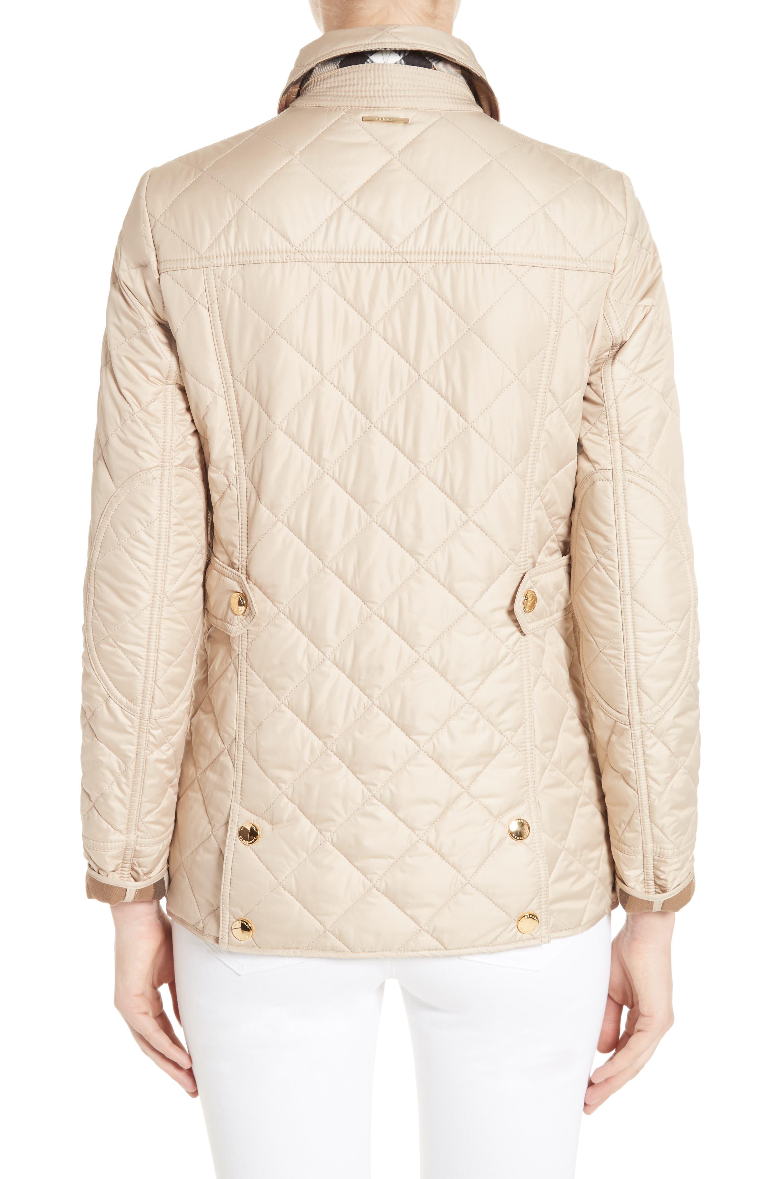 Alternate Image 2  - Burberry Westbridge Quilted Jacket