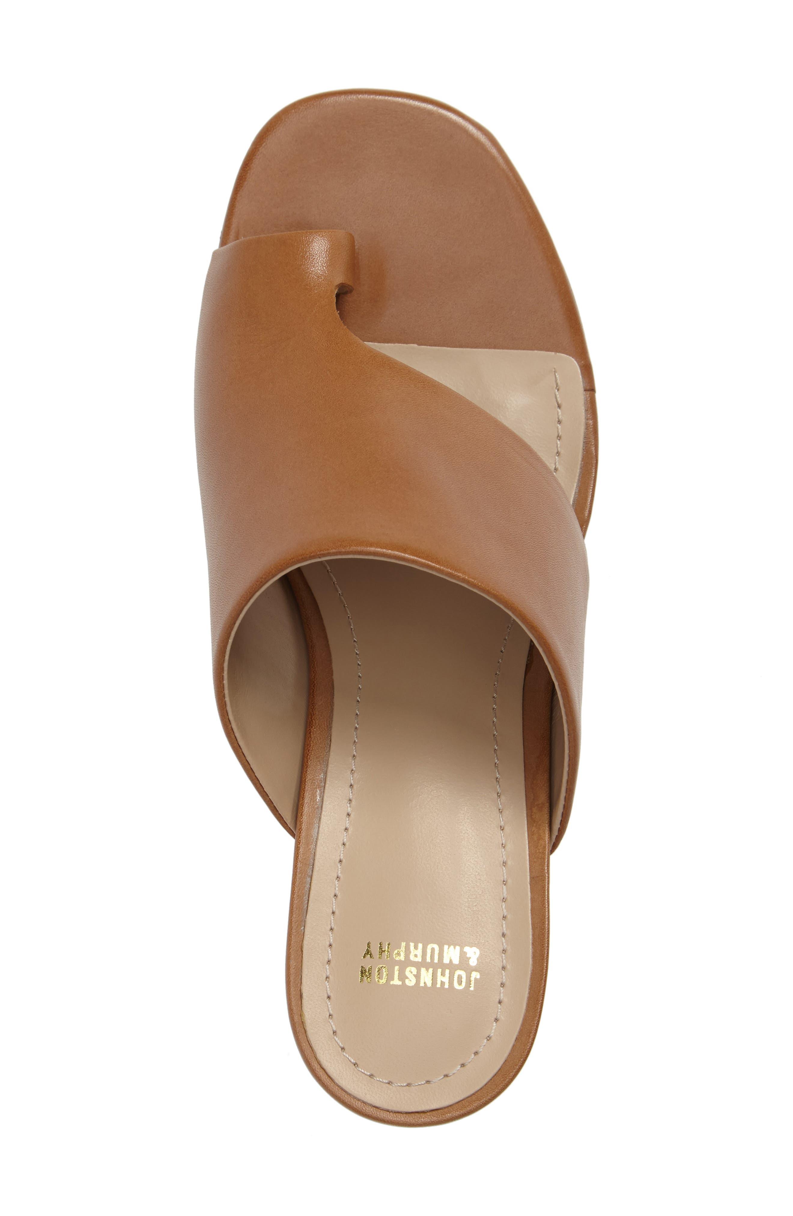 Alternate Image 3  - Johnston & Murphy Kelsey Toe Loop Slide Sandal (Women)